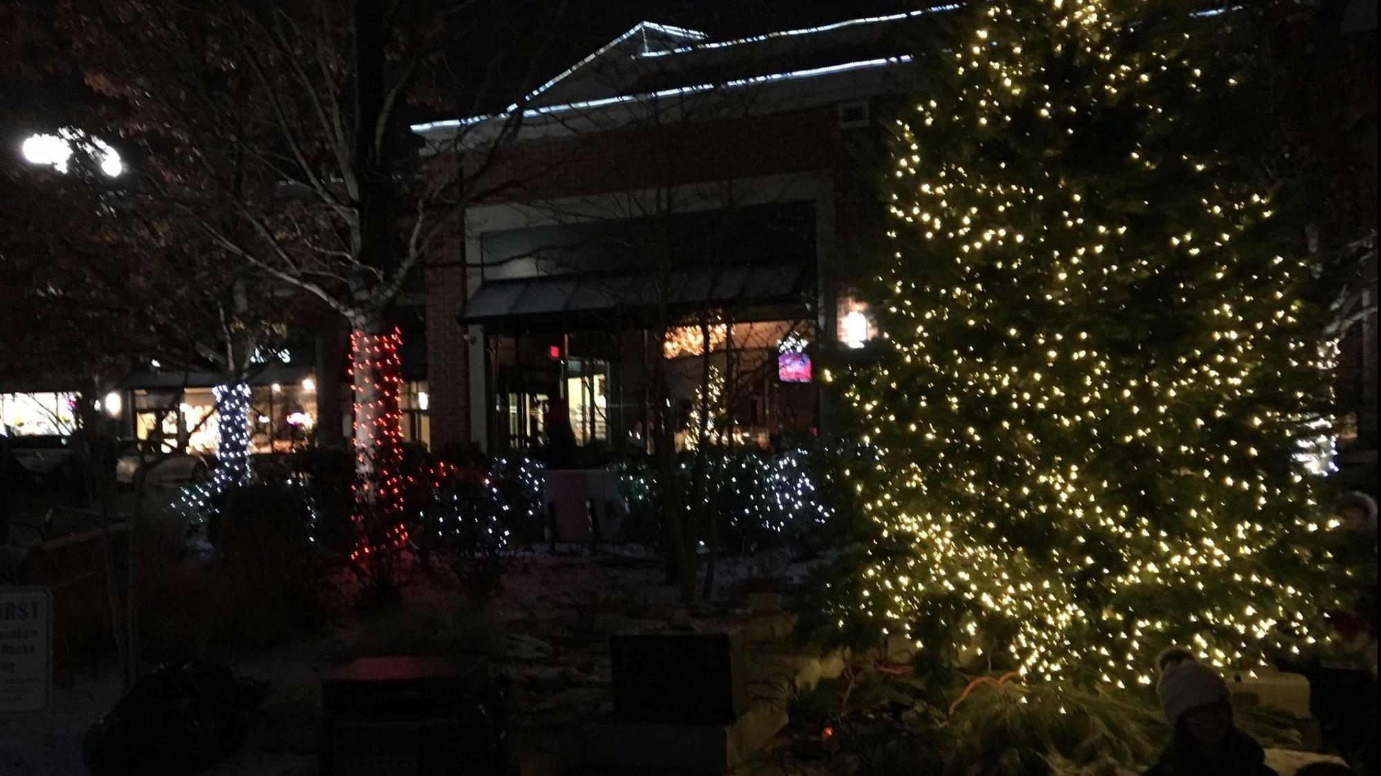 Deerfield lights up downtown to start the holiday season