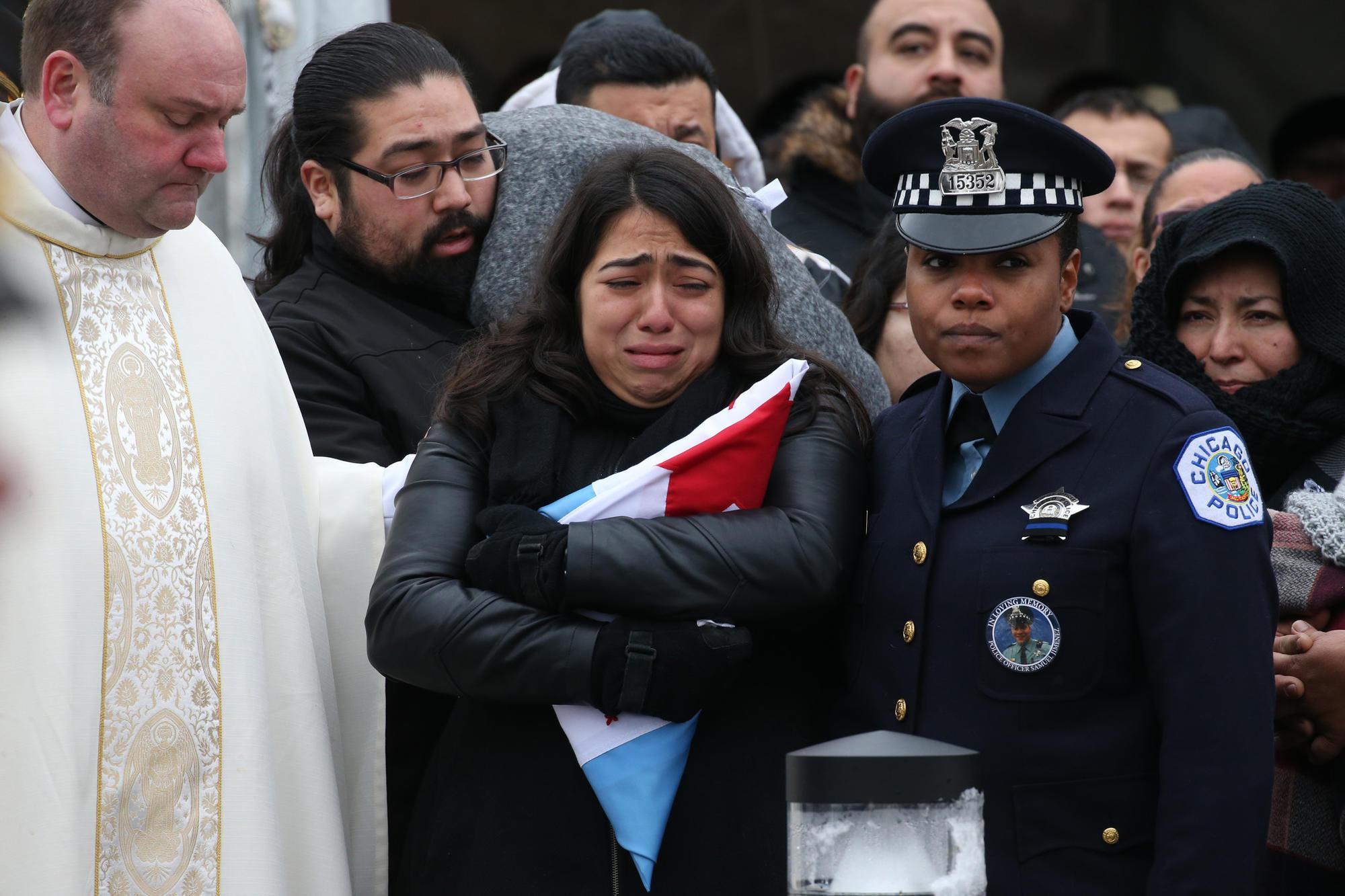 slain chicago police officer samuel jimenez remembered as loving