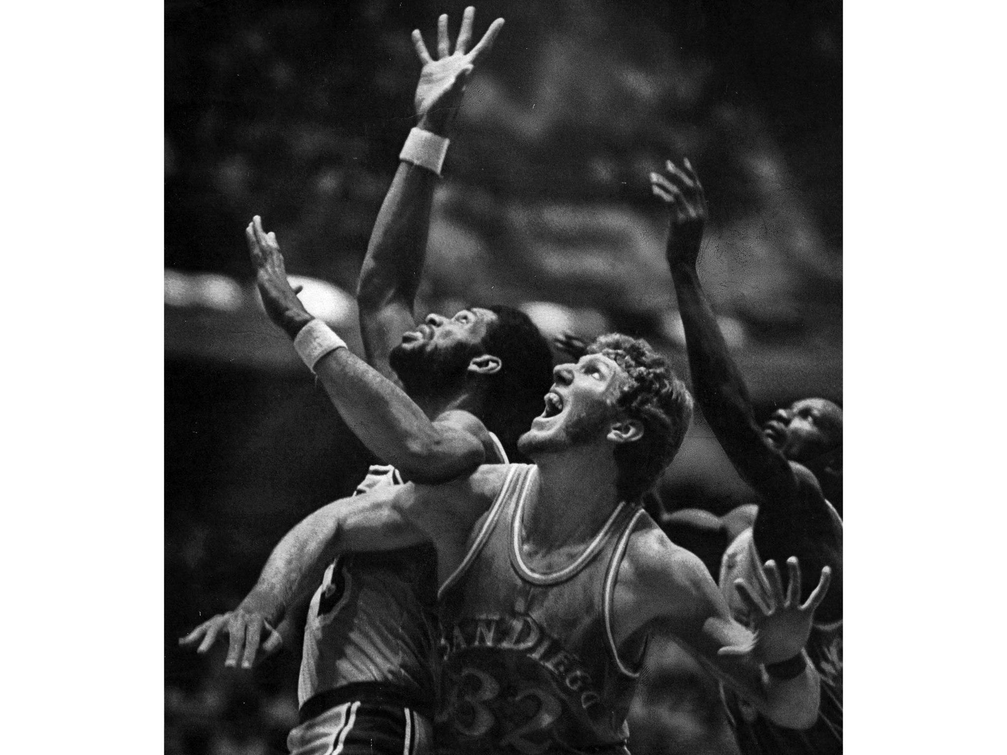 Kareem Abdul-Jabbar and Bill Walton