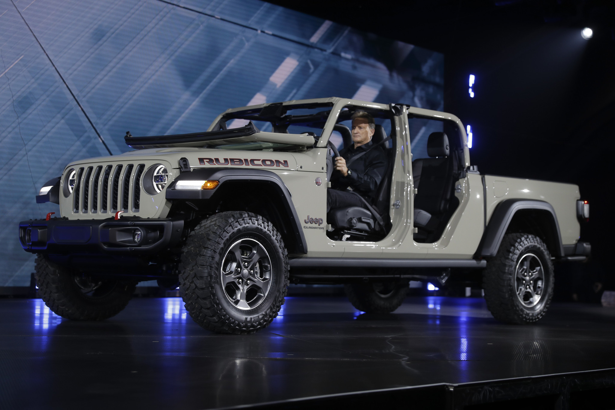 Jeep has a pickup truck and it is called Gladiator ...