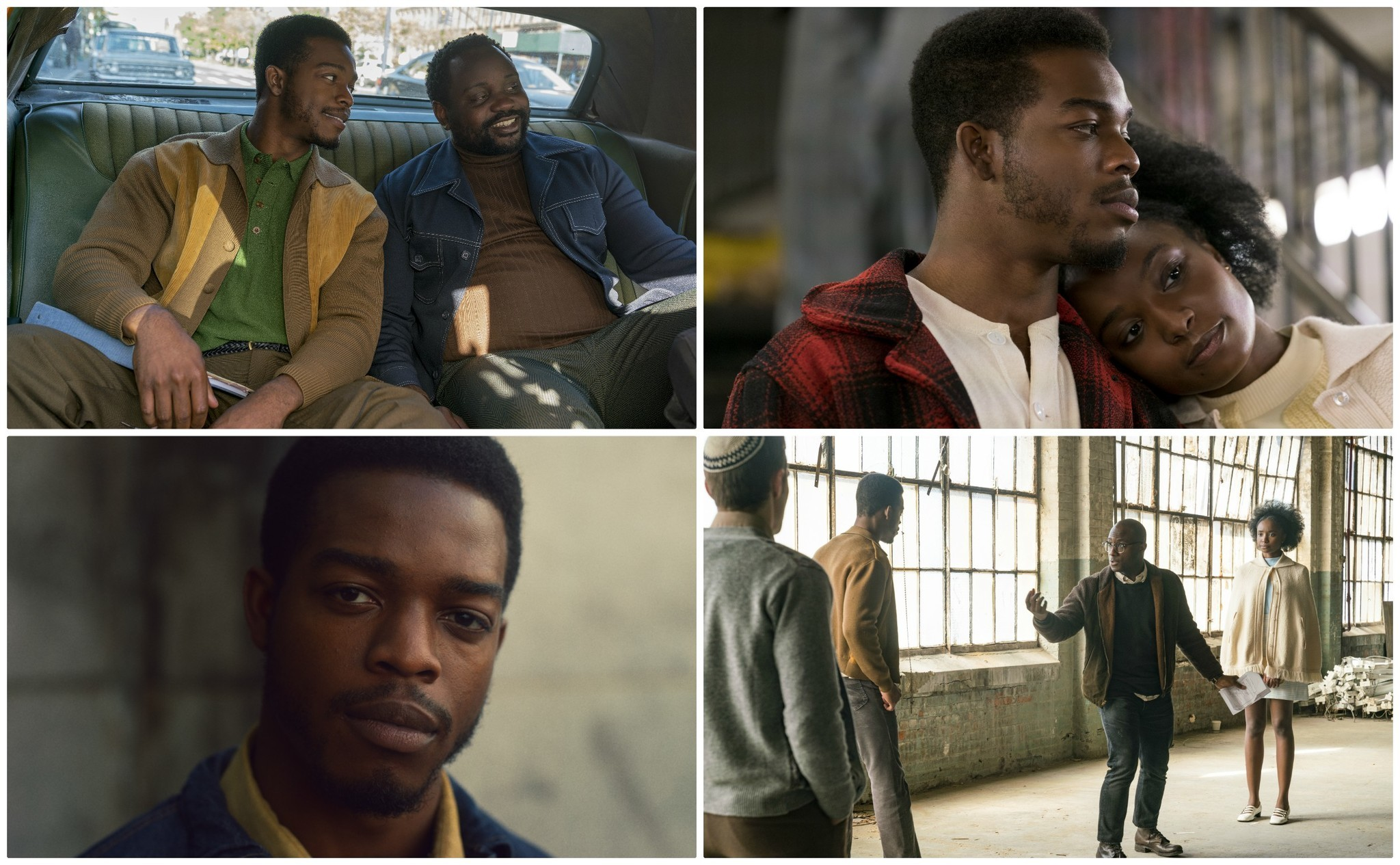 """Images from the film """"If Beale Street Could Talk."""""""