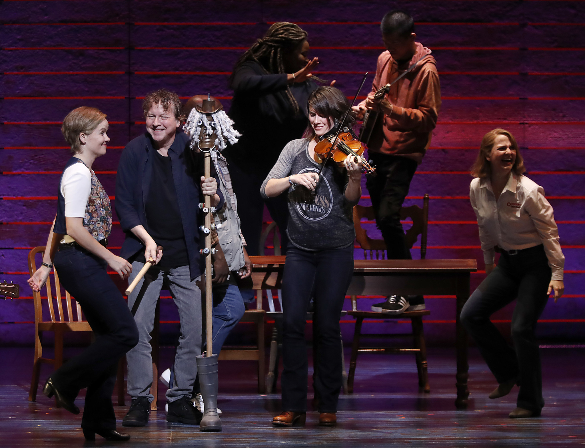 """Come From Away"": Folksy uplift at the Ahmanson."
