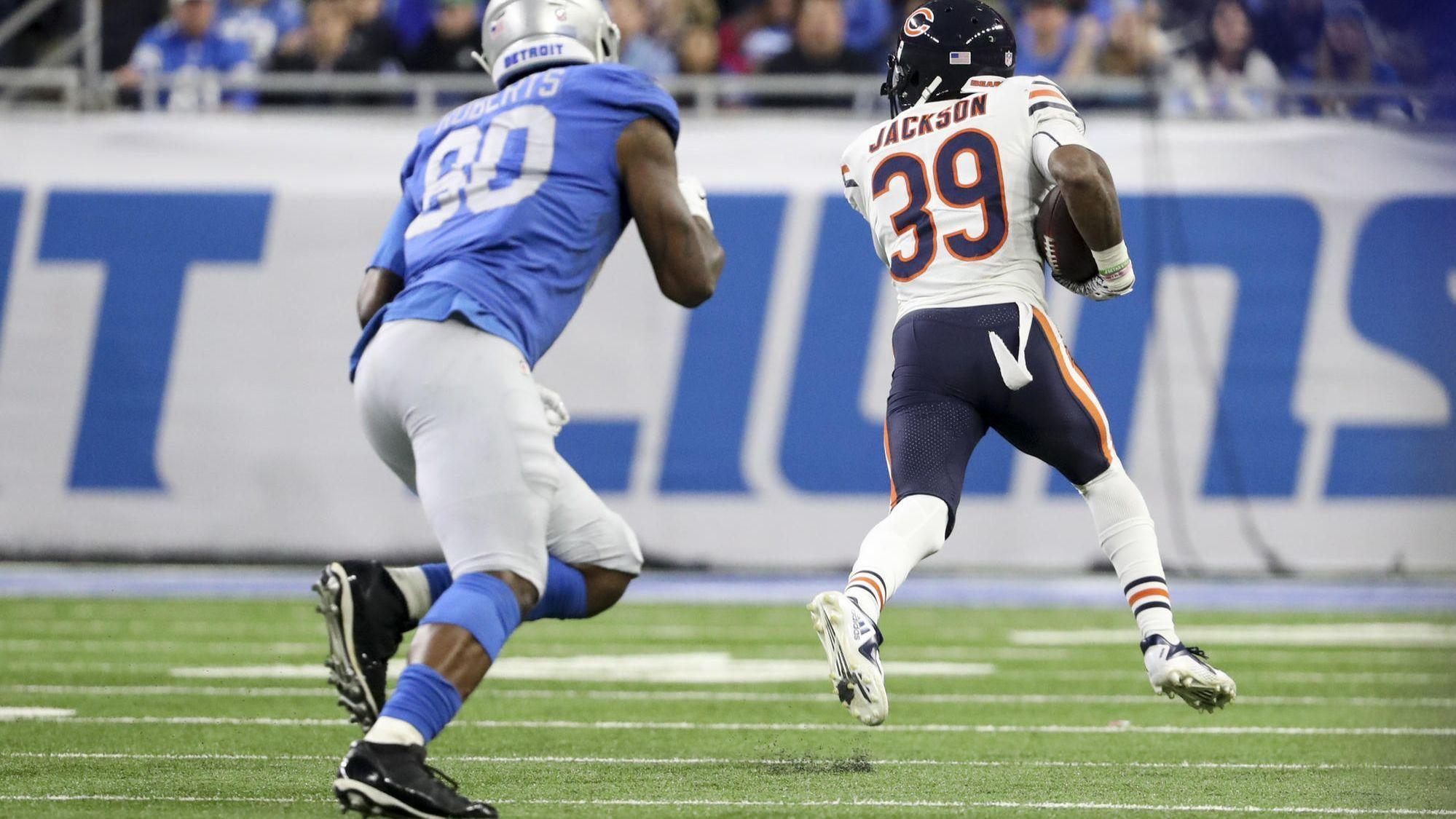 9cef5a0a8 Bears safety Eddie Jackson named NFC Defensive Player of the Month   I ve  never seen anything like him