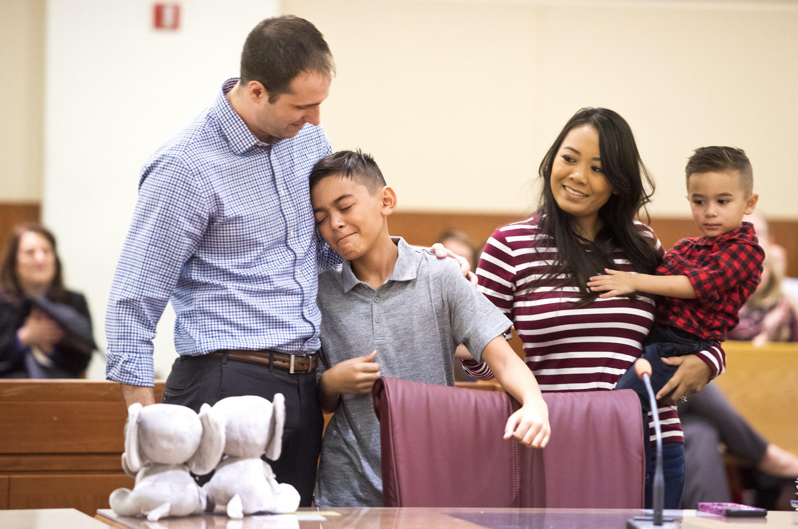 'She's a keeper:' National Adoption Day brings families together in Anne Arundel Circuit Court