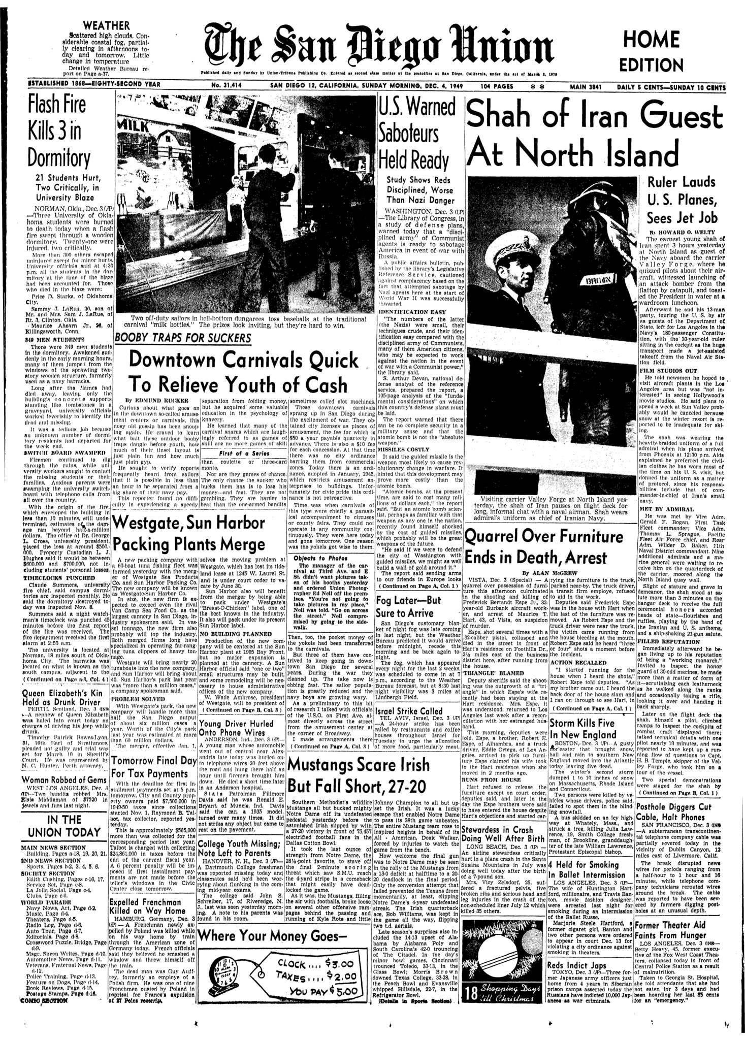 December 4, 1949