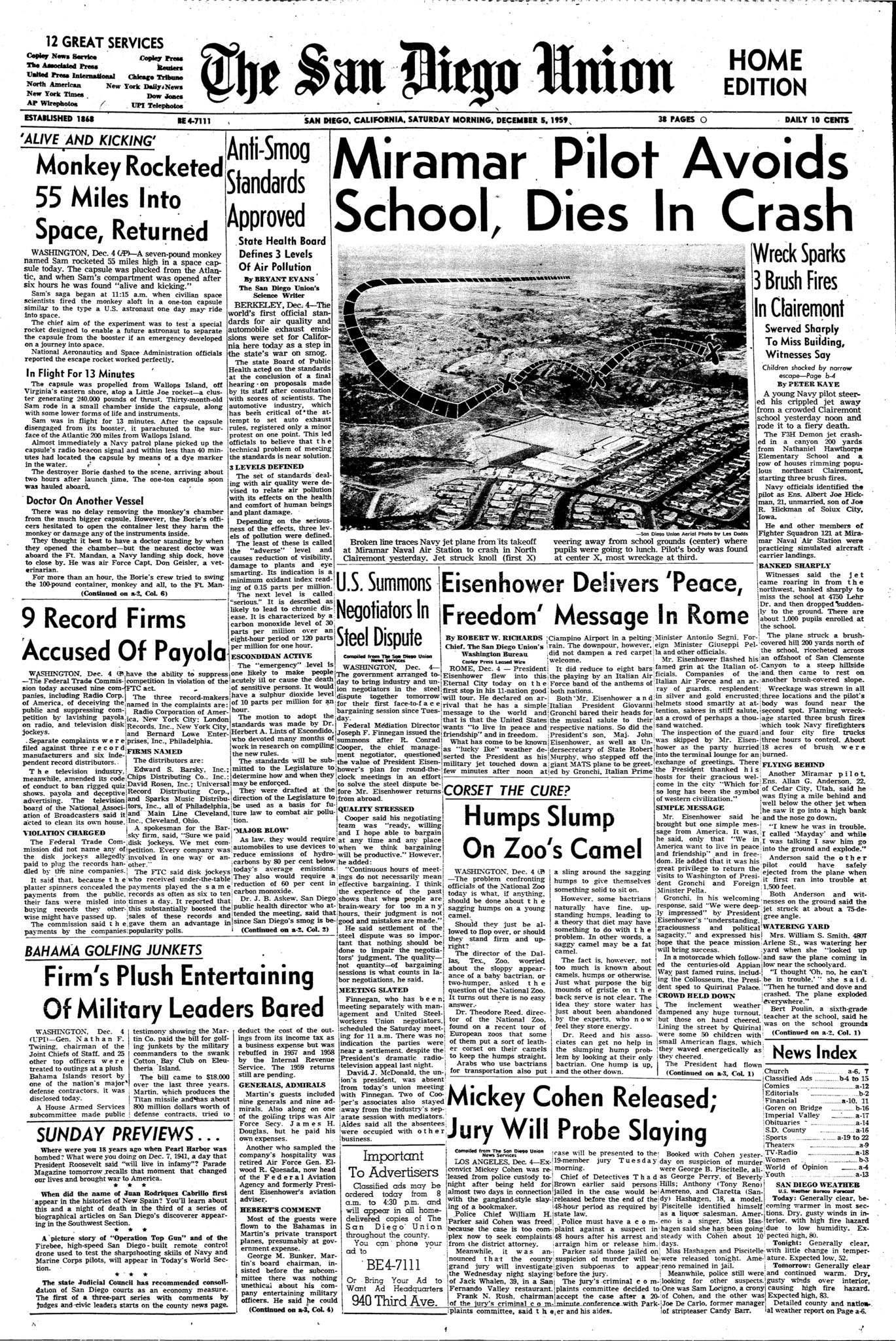 December 5, 1959