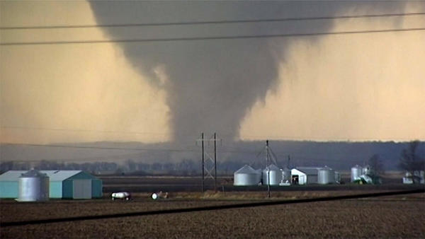 Weekend Storms Set Illinois Record 23 December Tornadoes