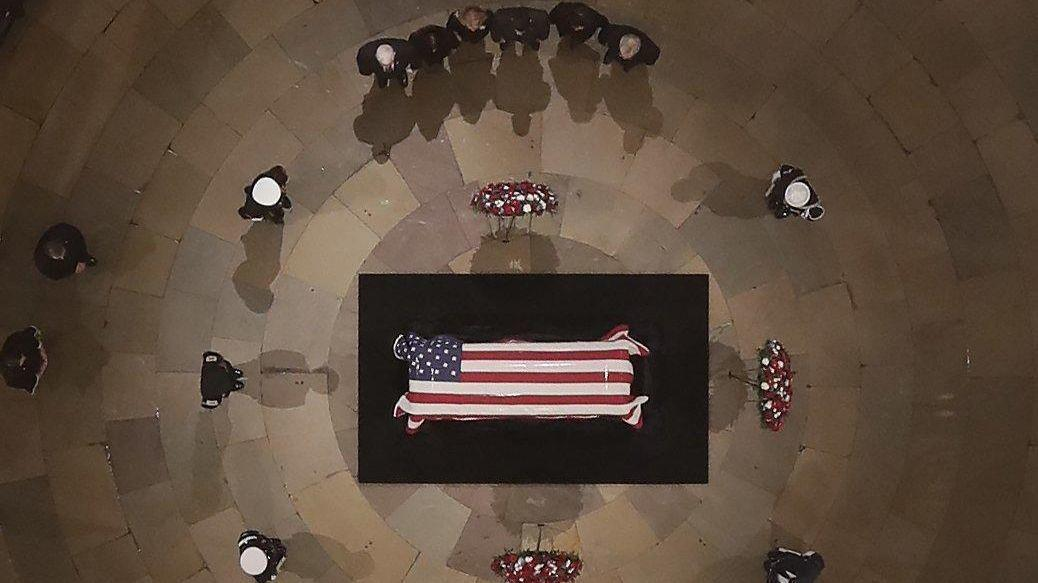 George H W Bush Funeral Schedule How And When To Watch And Who