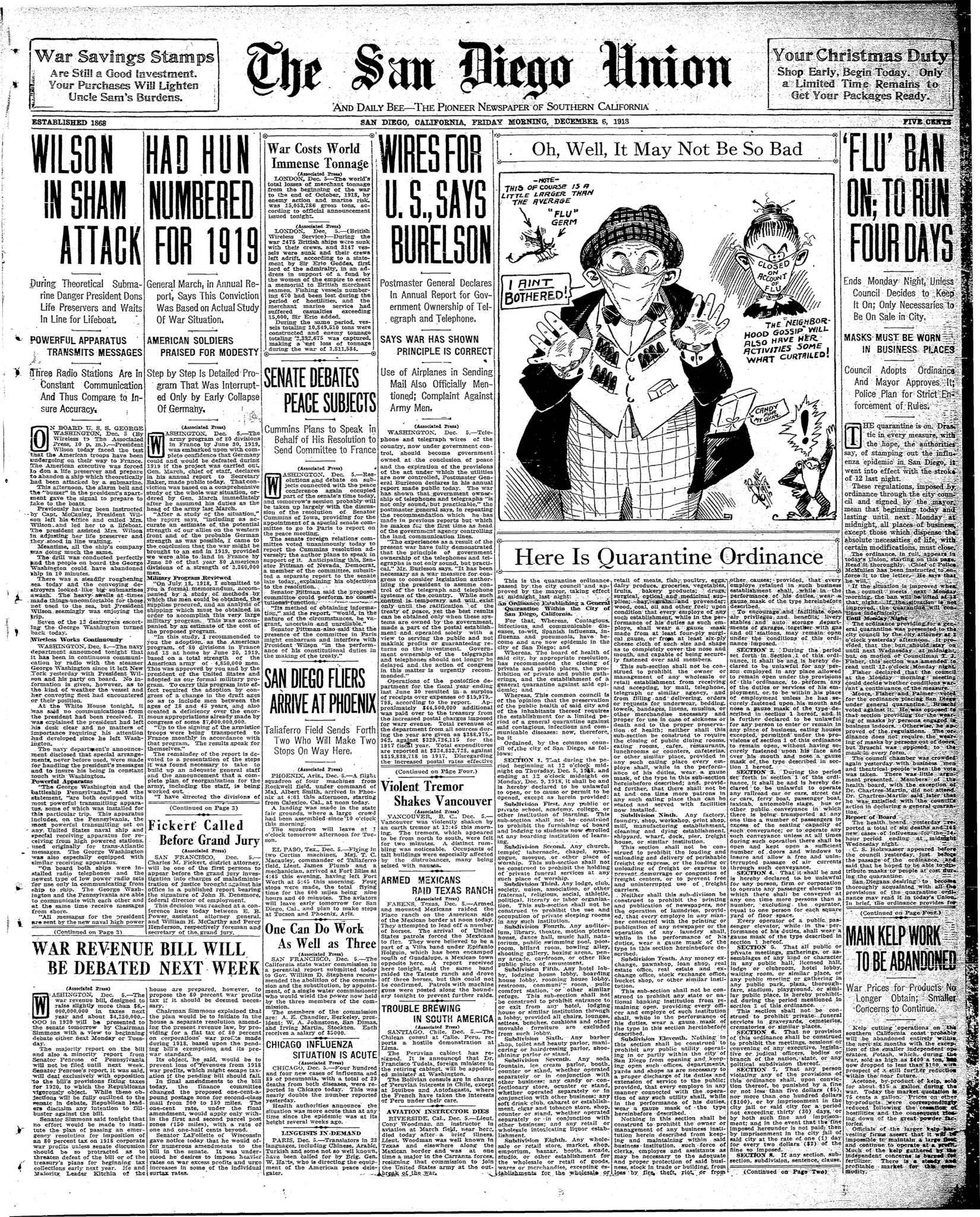 December 6, 1918