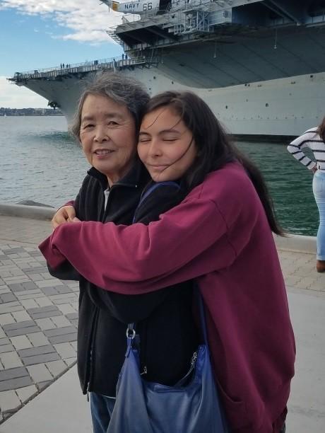 Josie meets her grandmother, Masako Hatano.
