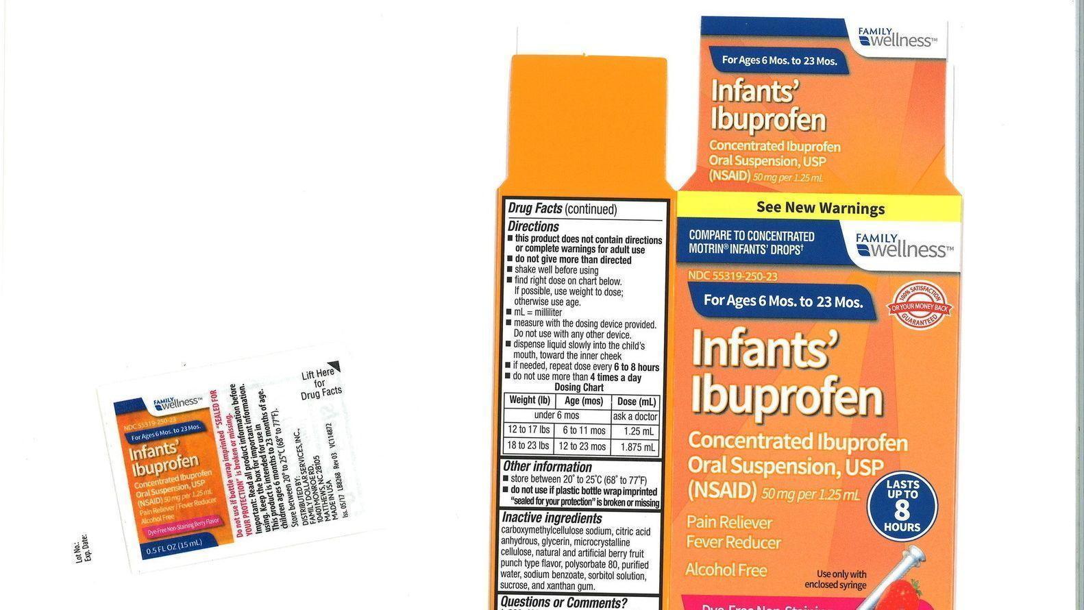 Image Result For Ibuprofen Recall