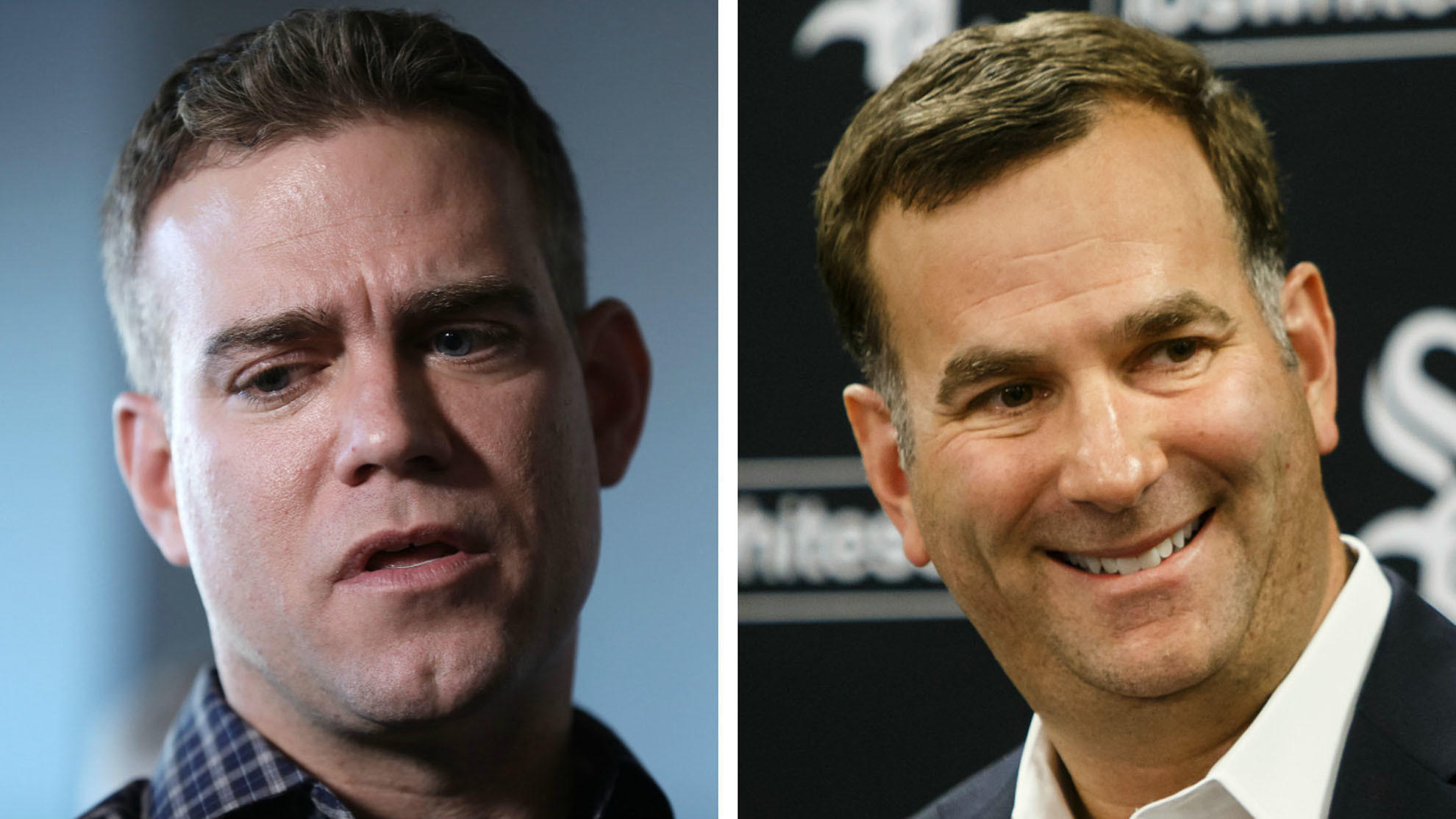 Ct-spt-cubs-white-sox-theo-epstein-rick-hahn-winter-meetings-20181209