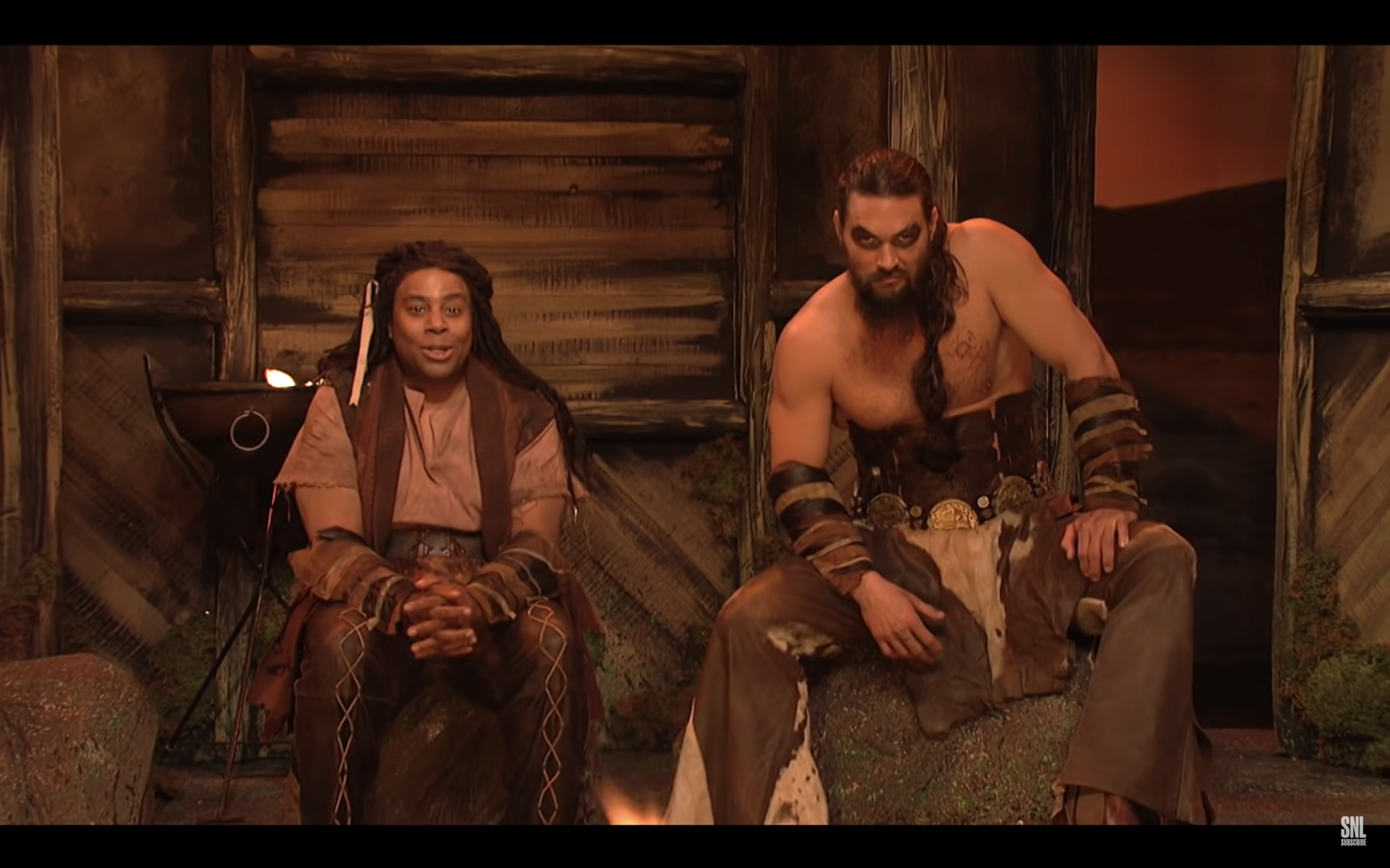 Jason Momoa revives his 'Game of Thrones' character on 'SNL' for 'Khal Drogo's Ghost Dojo'