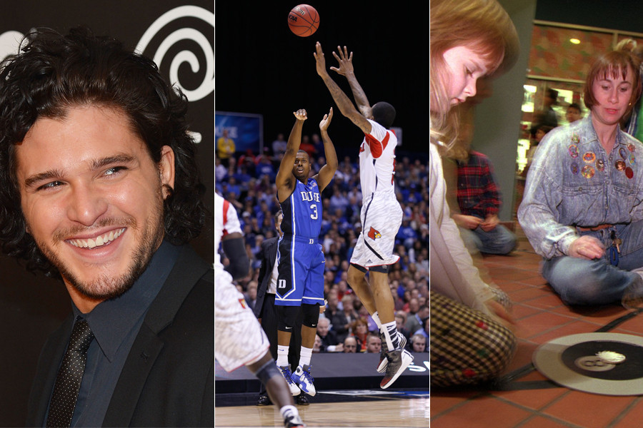 Game of Thrones' returns, Kevin Ware's injury shocks and