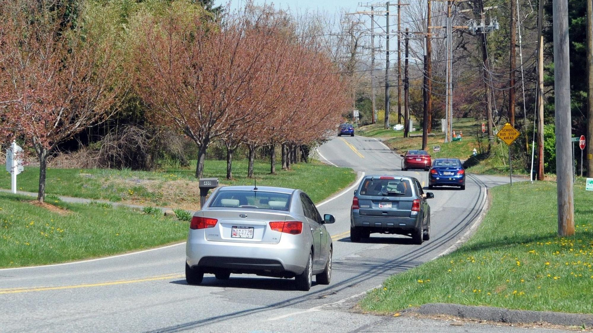 Closure Of Moores Mill Road In Bel Air For Work Delayed Until Car Lights Delay Spring The Aegis