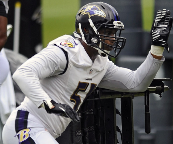 8f152b984520 Ravens linebackers Daryl Smith