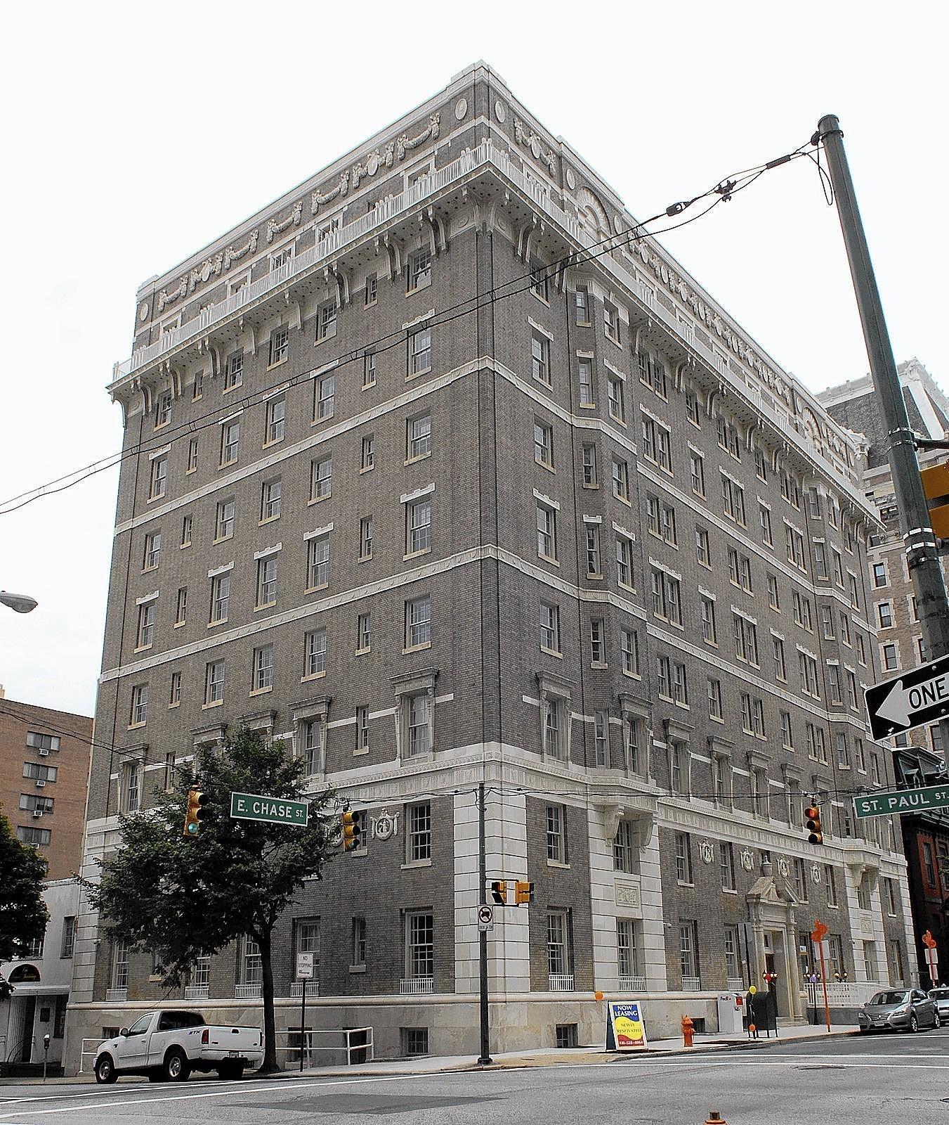 Baltimore S Algonquin Apartments Return To Earlier Splendor Sun