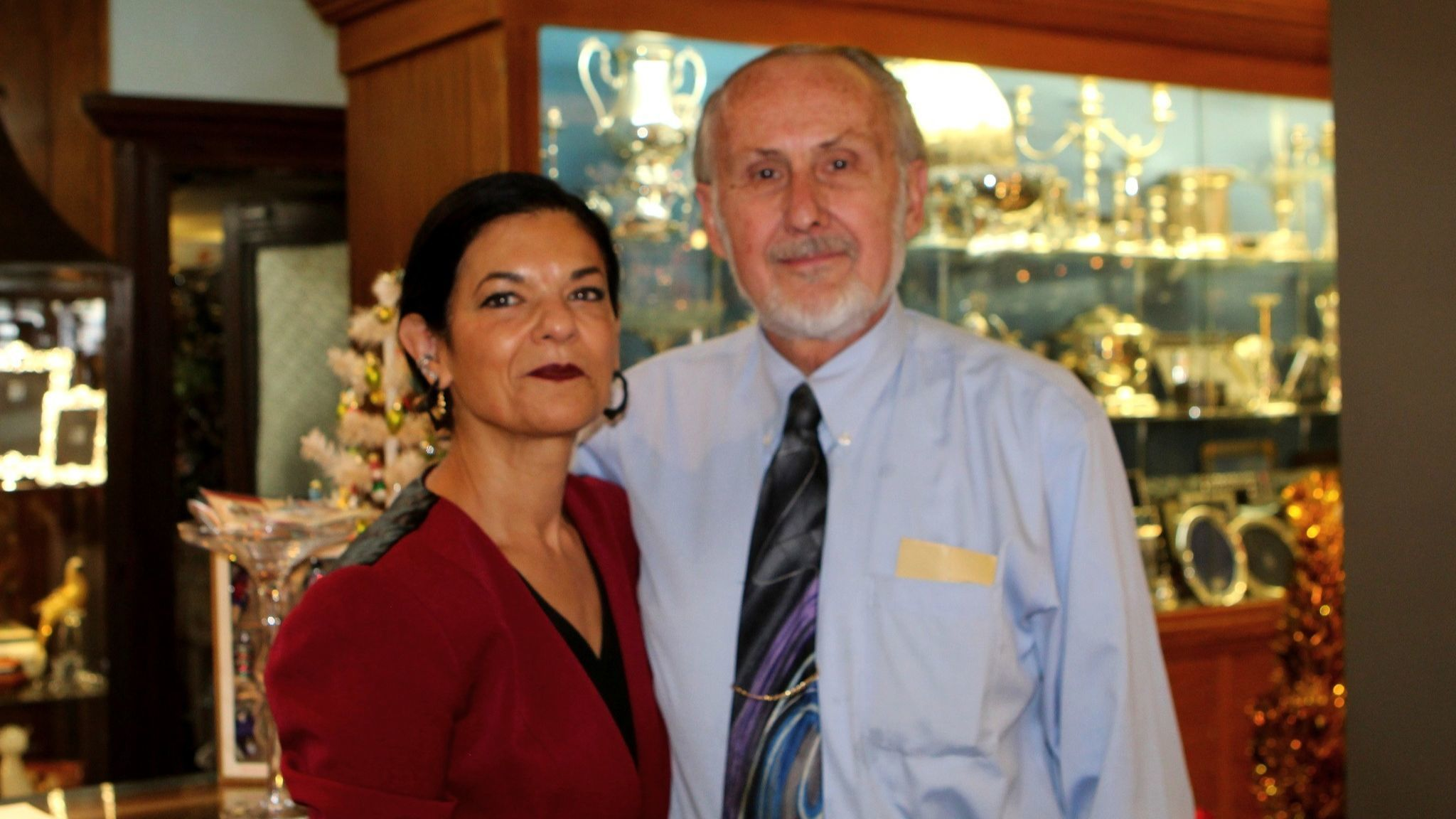 Sheila and Larry Combe, co-owners of Bowers Jewelers