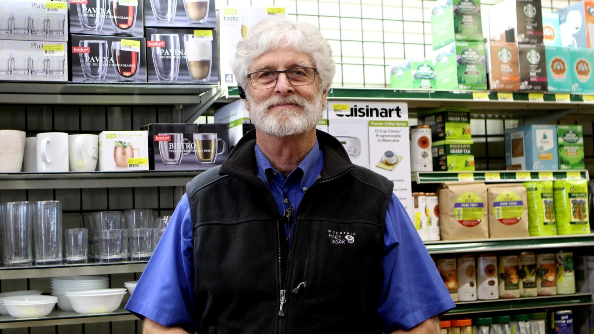 Meanley's Hardware owner Bob Meanley