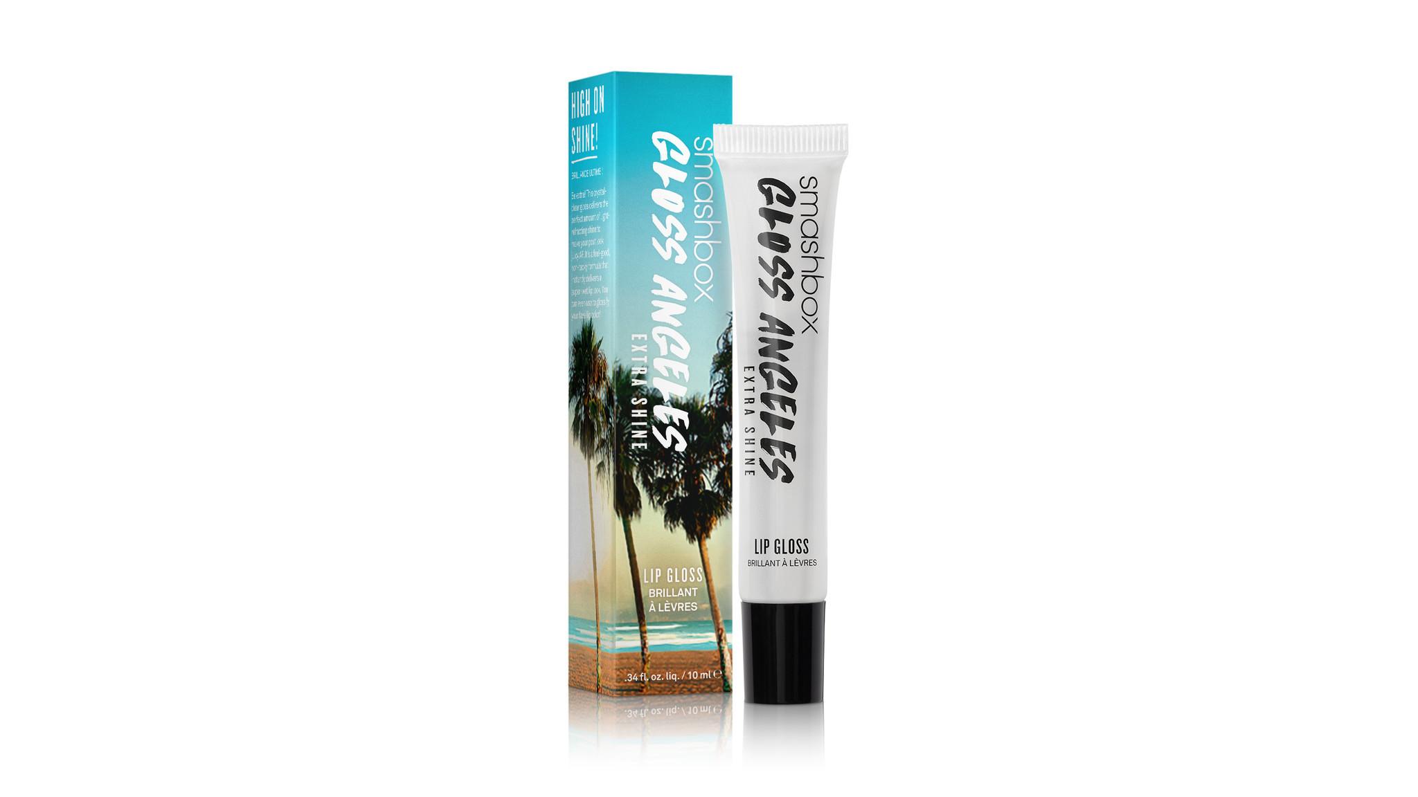 Smashbox Gloss Angeles Extra Shine crystal-clear lip gloss, $19 at Smashbox in Venice, smashbox.com