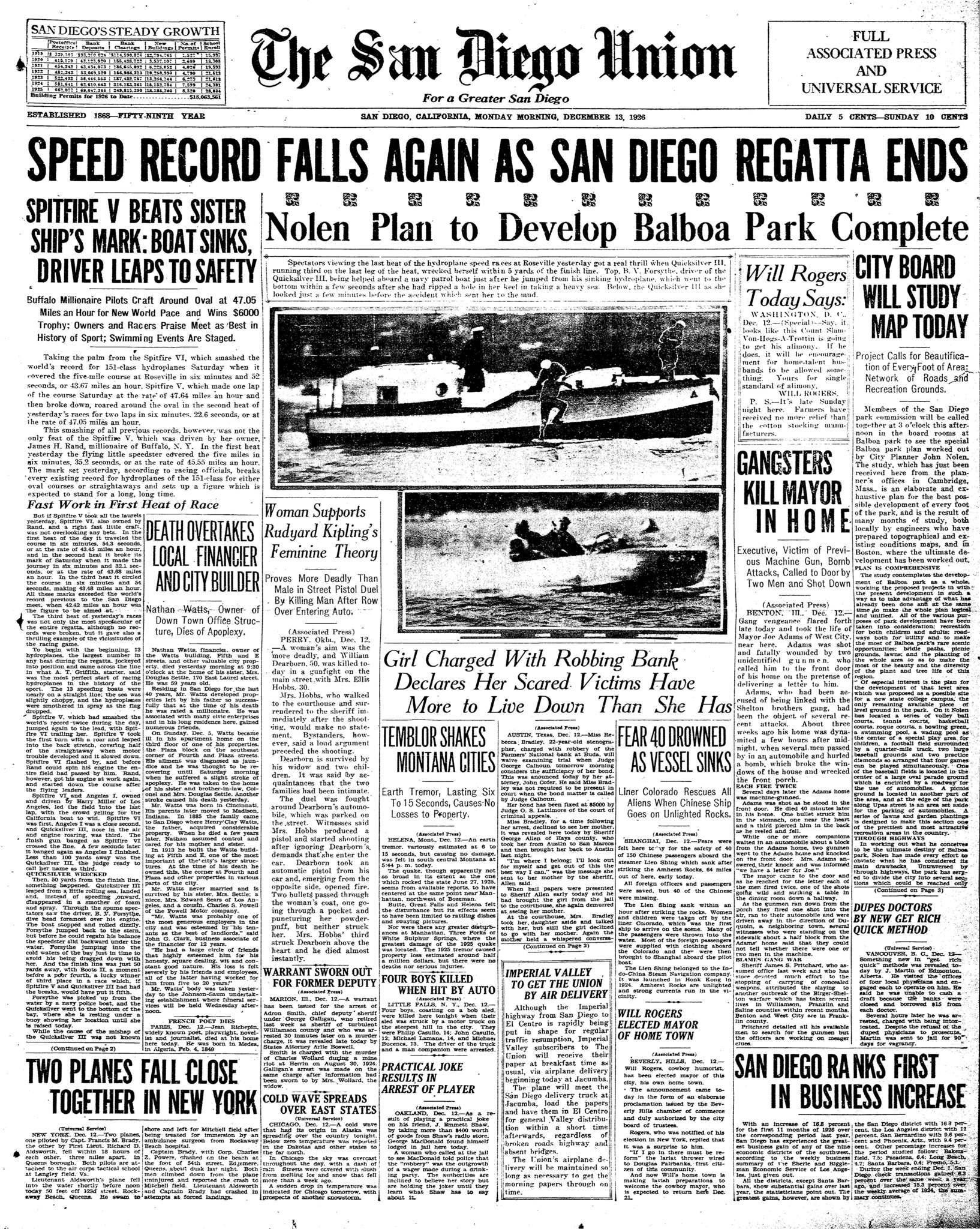 December 13, 1926