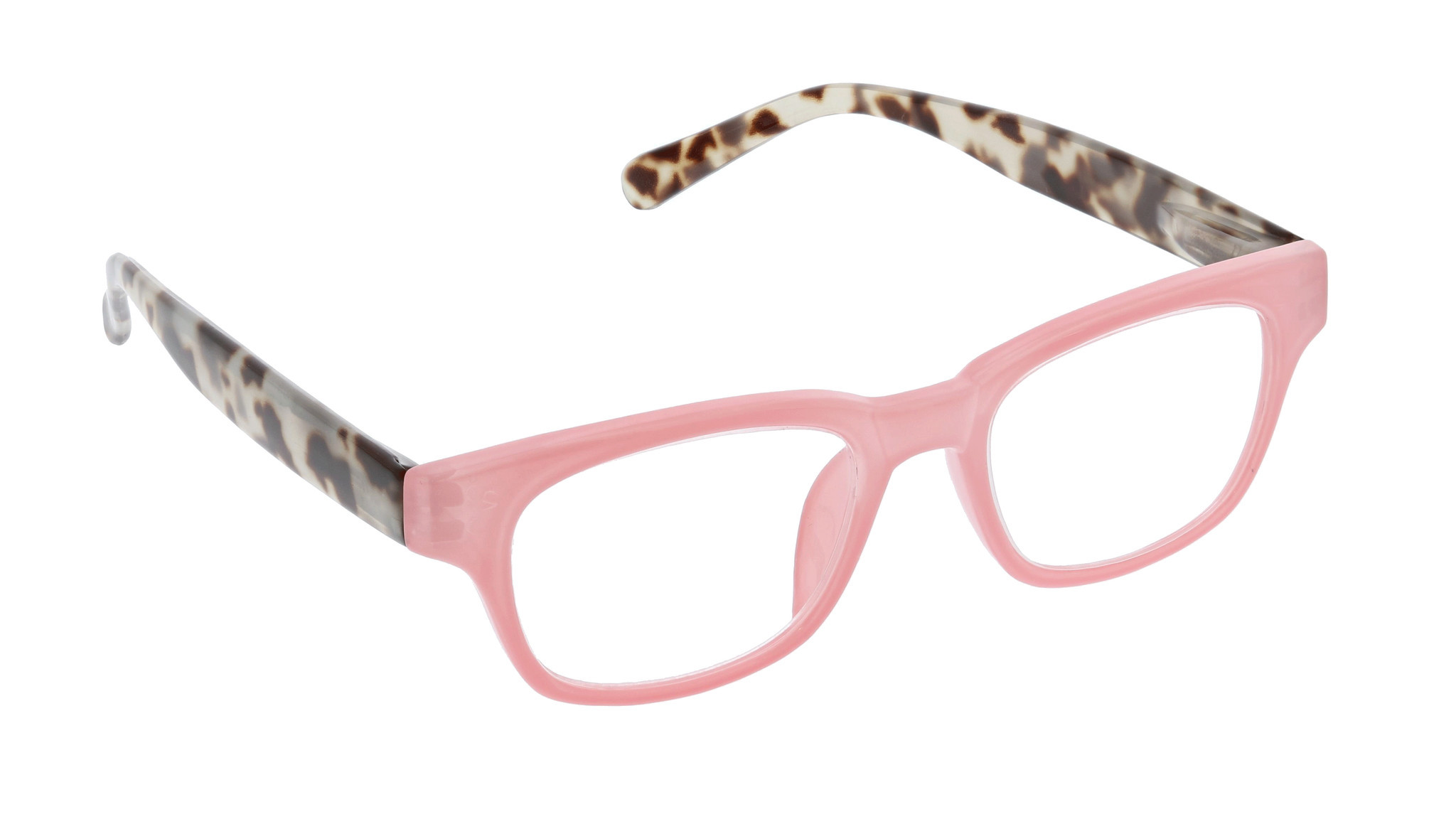 Peepers polycarbonate Vintage Vibes reading glasses with tortoise temples, anti-scratch coated lense