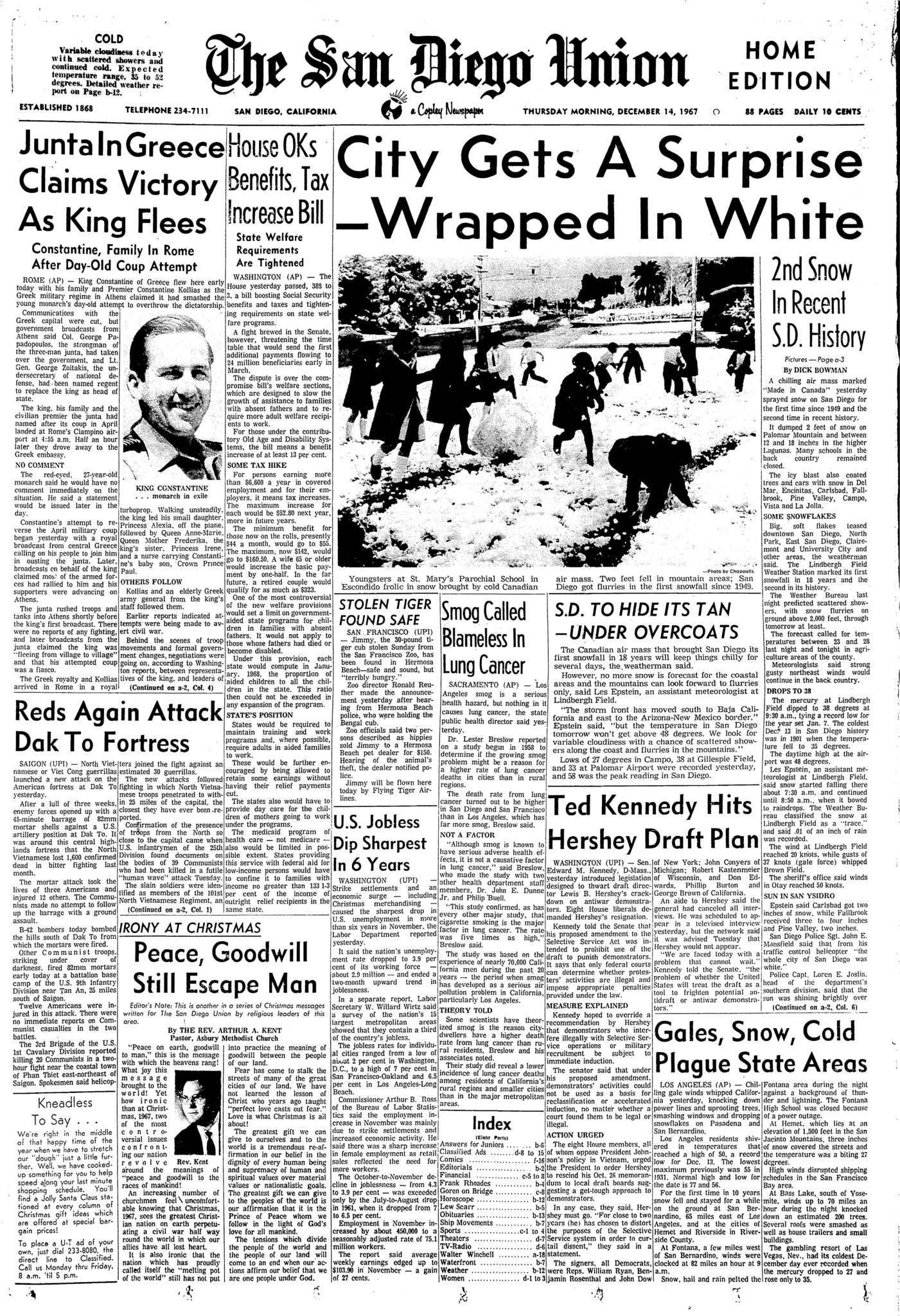 December 14, 1967