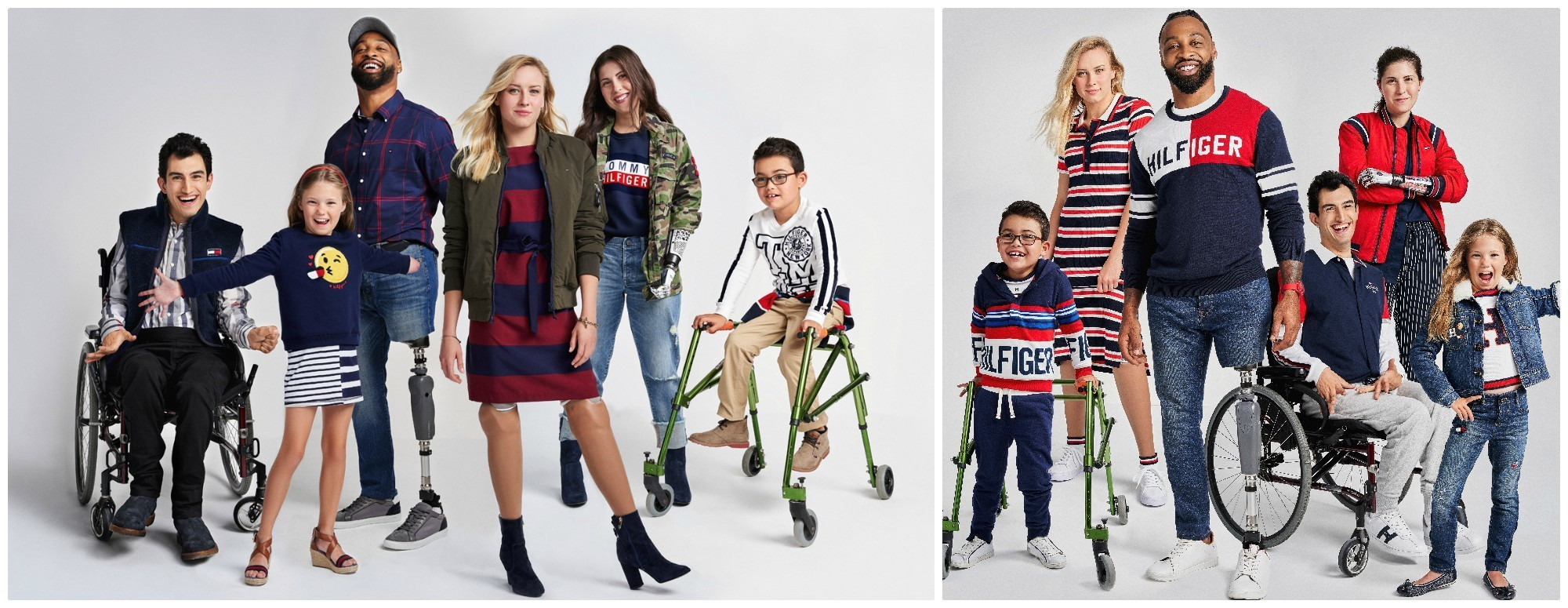 The fall 2018 Tommy Hilfiger Tommy Adaptive collection.