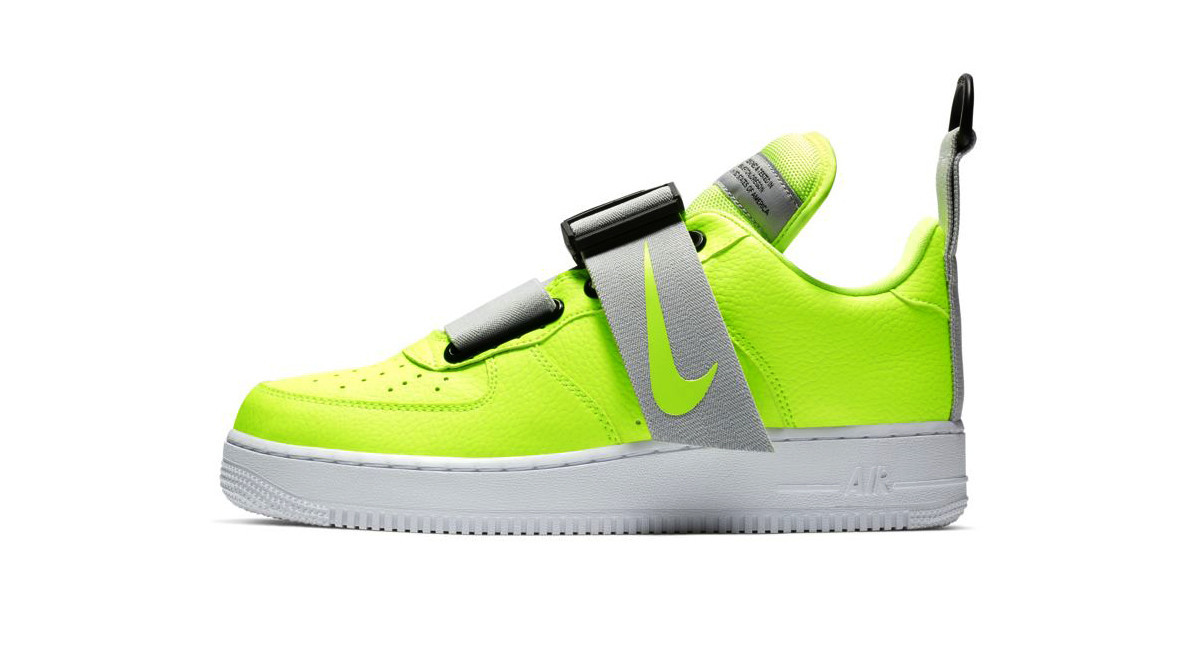 Nike Air Force 1 Utility men's shoe with buckle strap closure, $145 at nike.com.