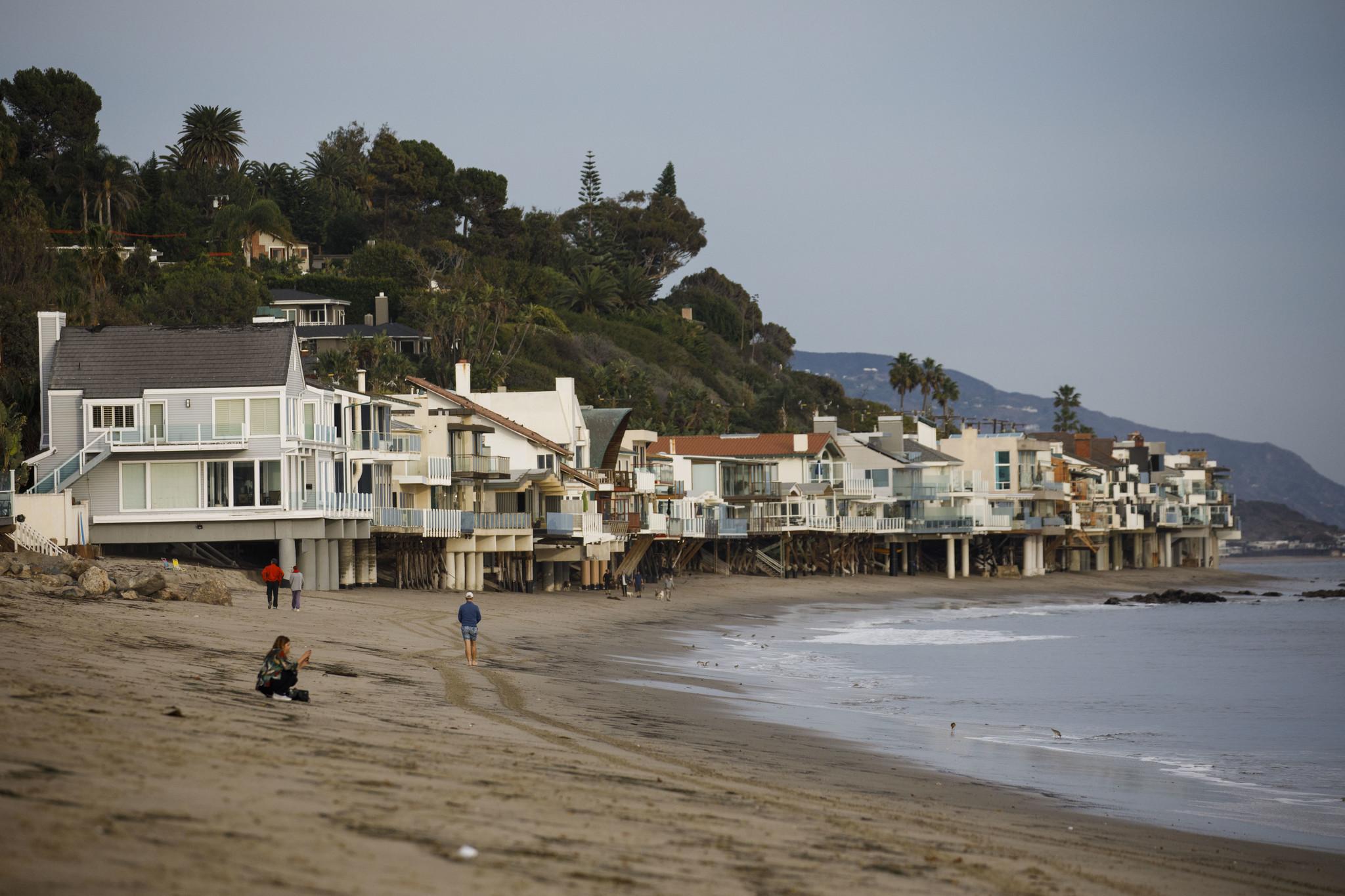 Escondido Beach in Malibu