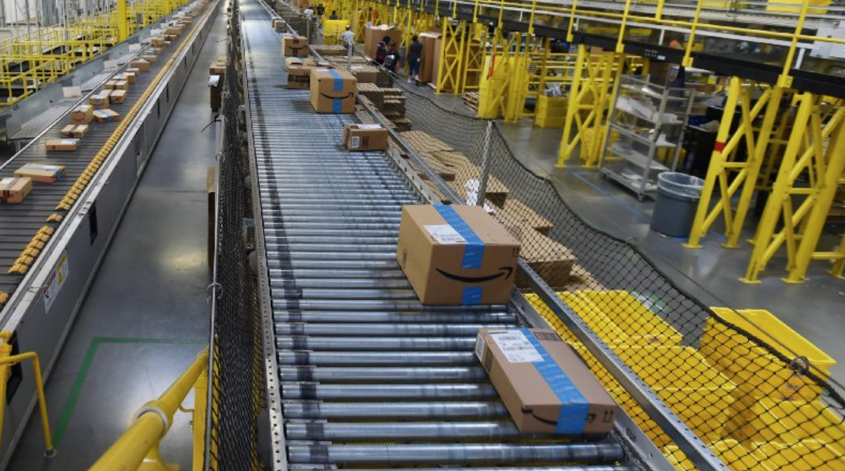 An inside look at Amazon's fulfillment center - Baltimore Sun