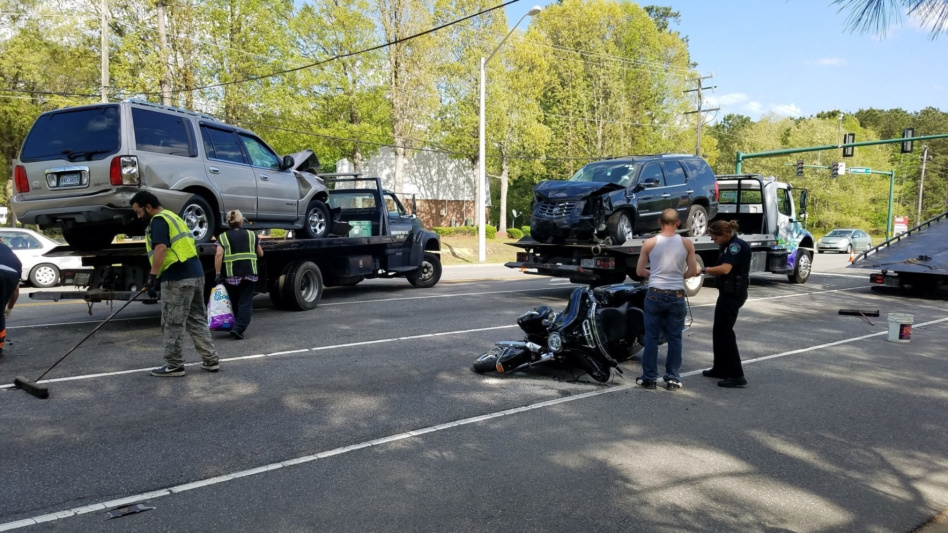 four-vehicle accident in newport news on saturday - daily press