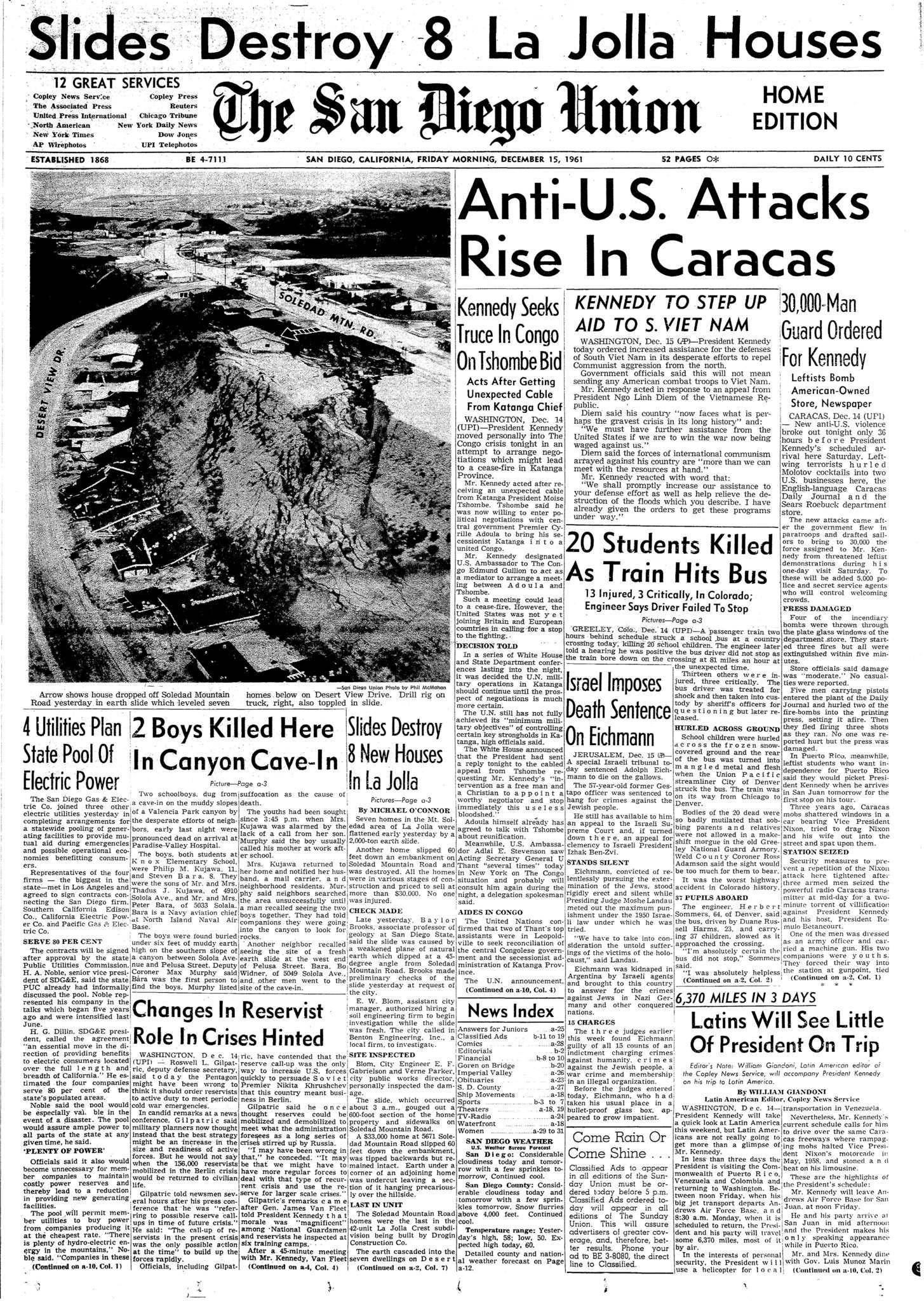 December 15, 1961