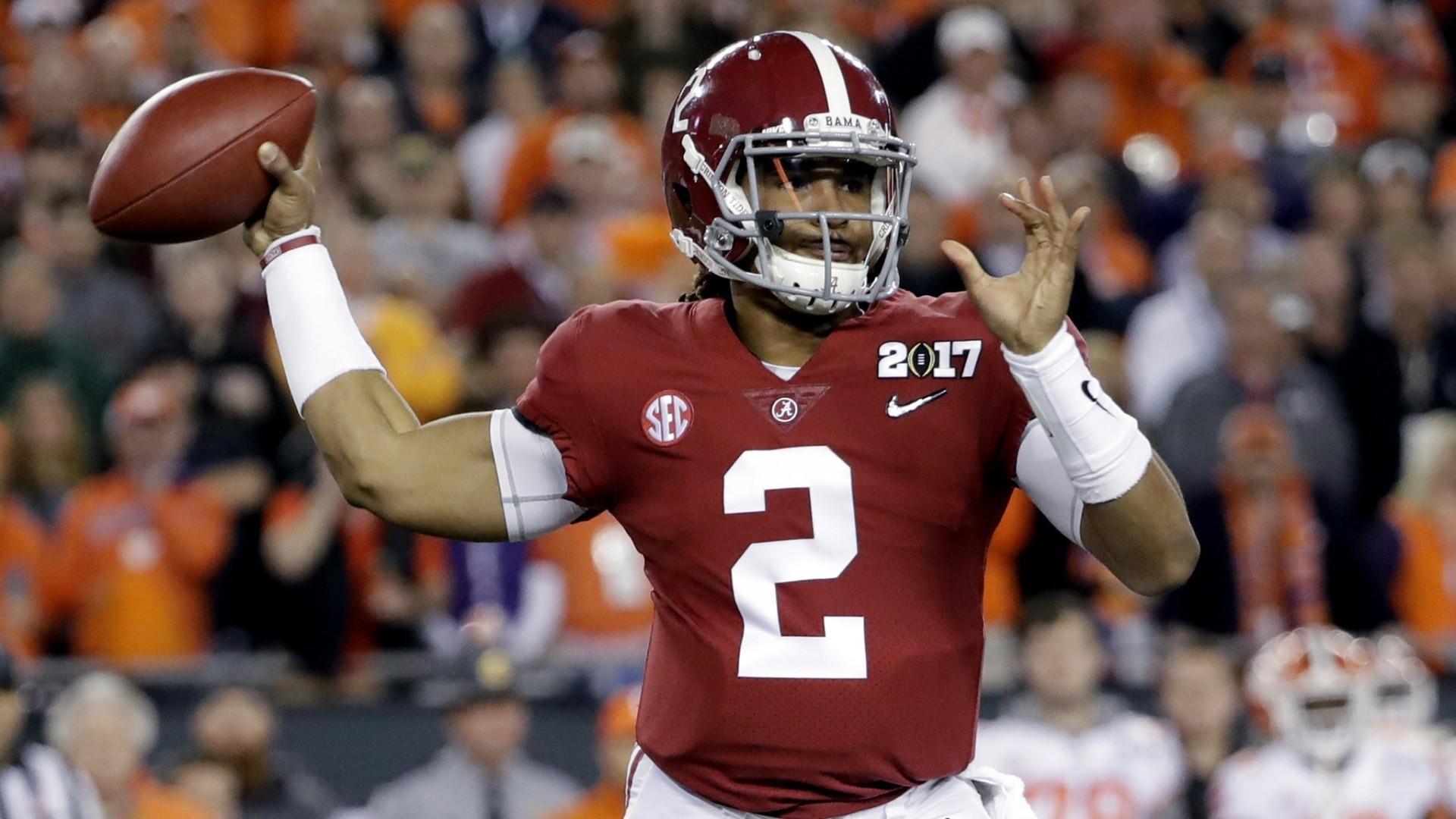 Alabama QB Jalen Hurts recaps A-Day