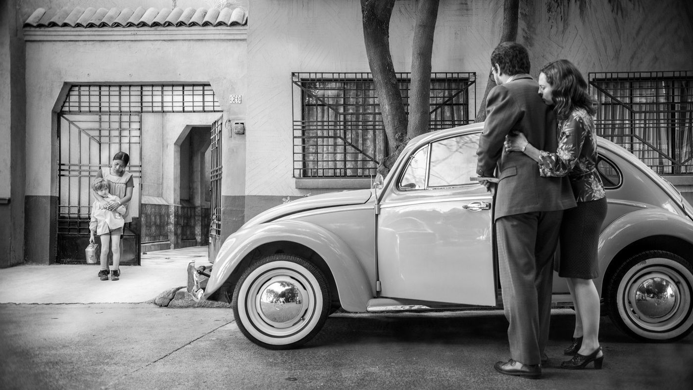 """A scene from the movie """"Roma,"""" which was named best picture of 2018 by the Los Angeles Film Critics Assn."""