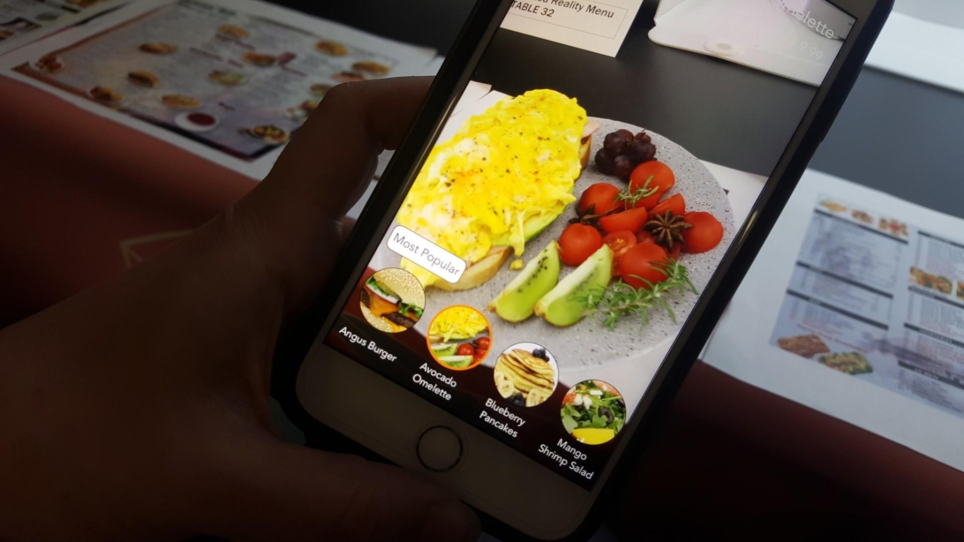 ucf students create 3d restaurant menu orlando sentinel