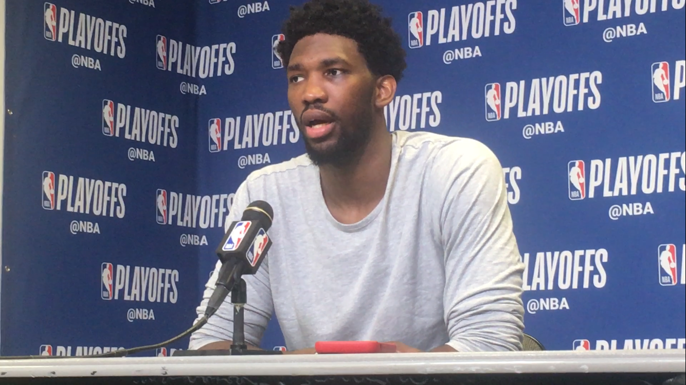 Sixers center Joel Embiid on running up the score on the Heat in