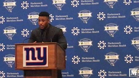 9e3063131 Saquon Barkley on being the face of the New York Giants