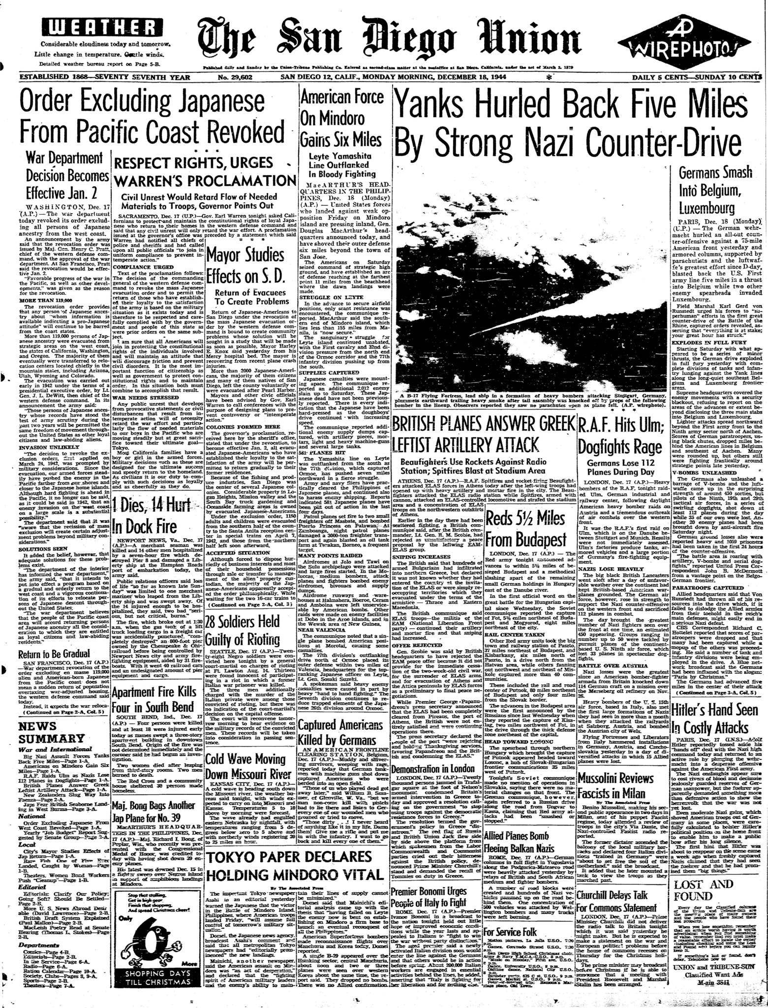 December 18, 1944