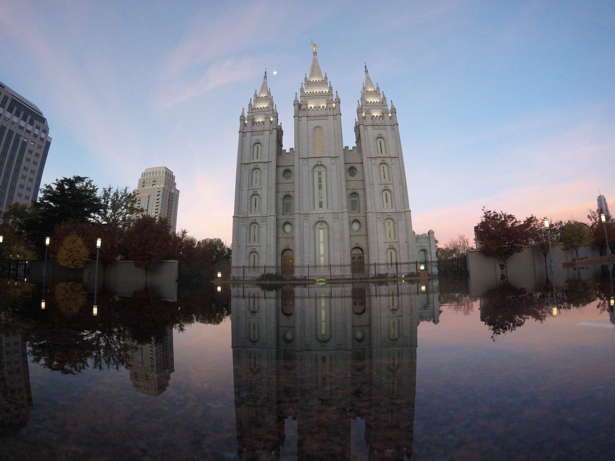 Salt Lake Temple, Temple Square.