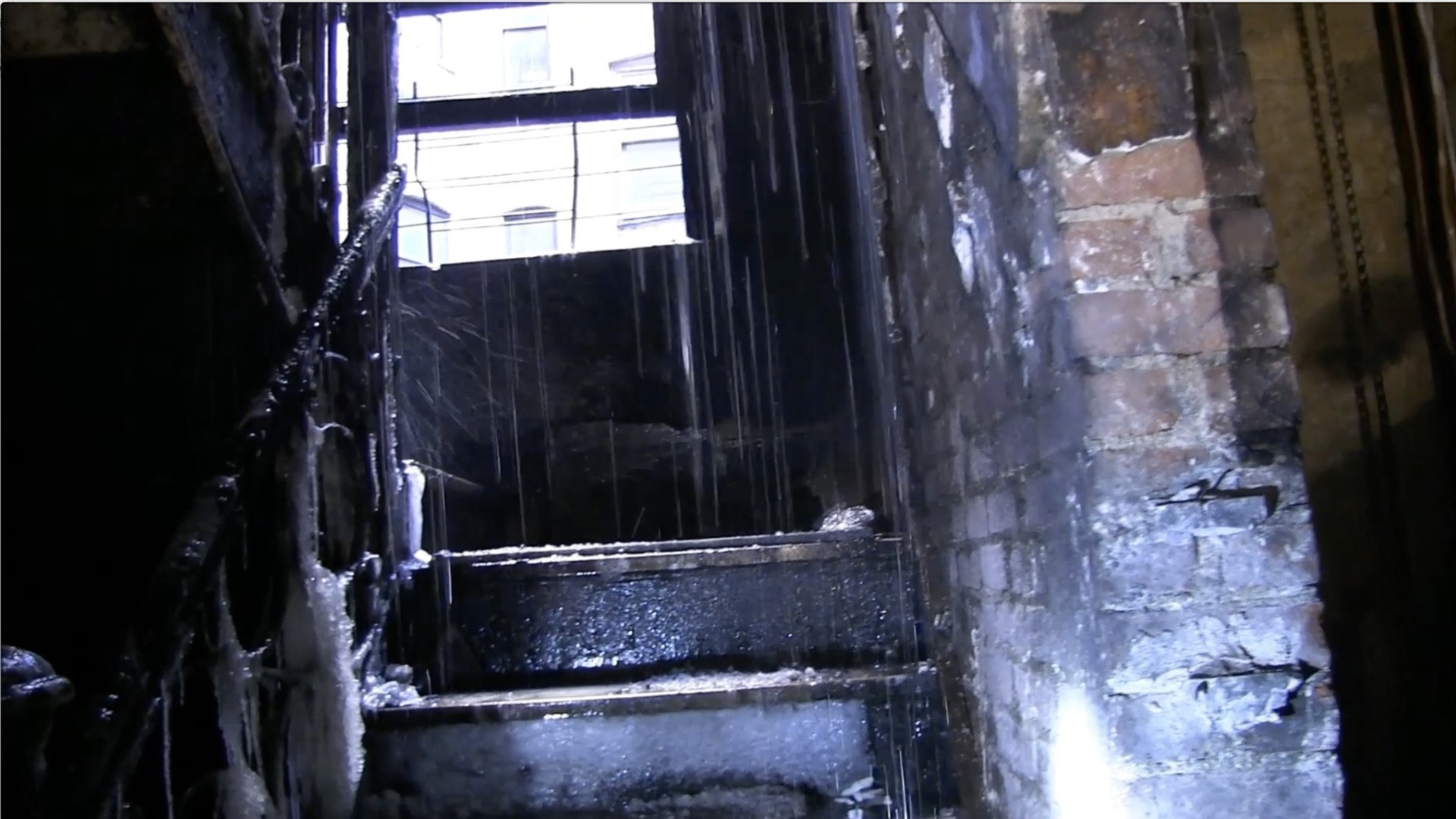 A look inside fire-ravaged New York apartment building - The