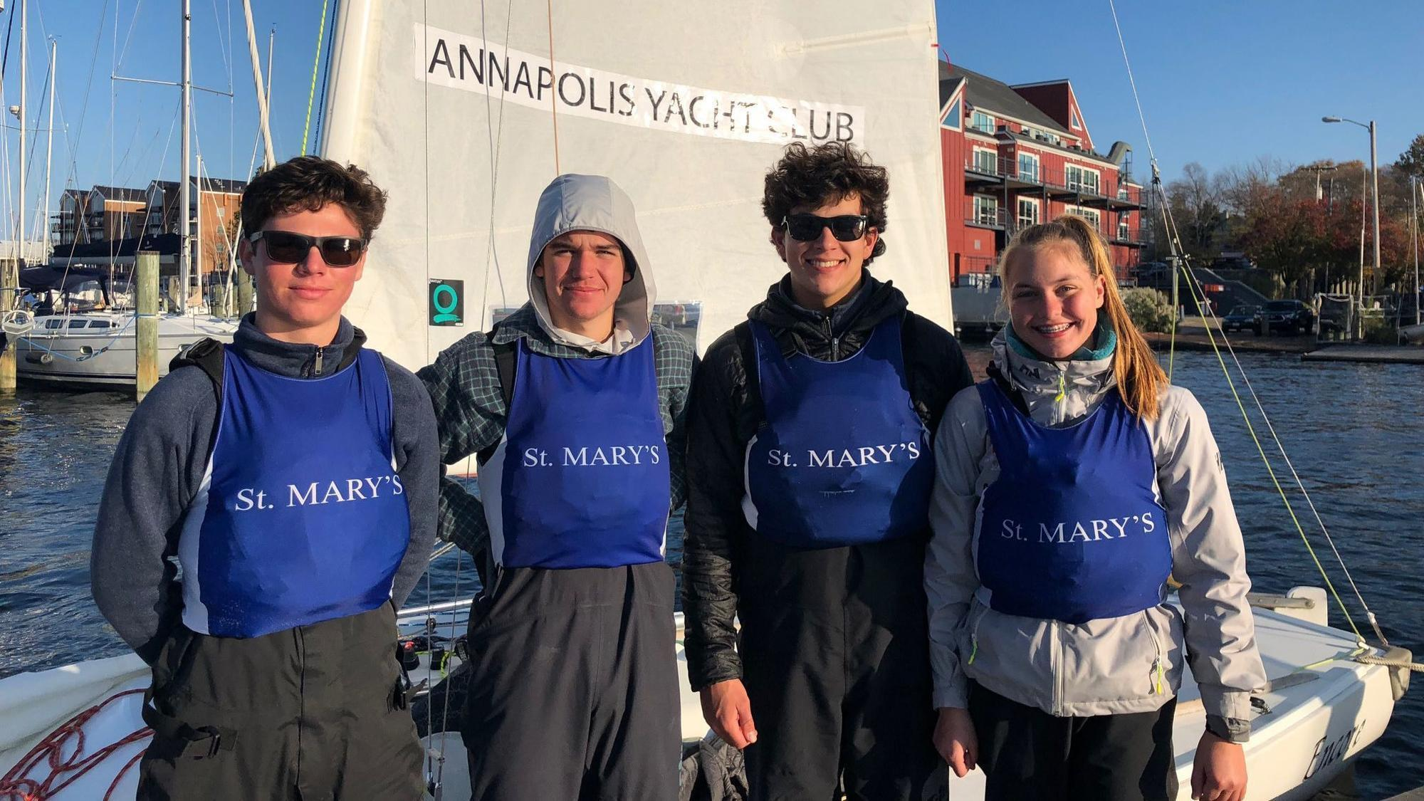 St. Mary's places fourth at high school keelboat nationals