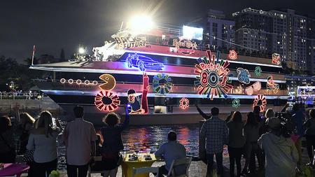South Florida Holiday Boat Parades Photos