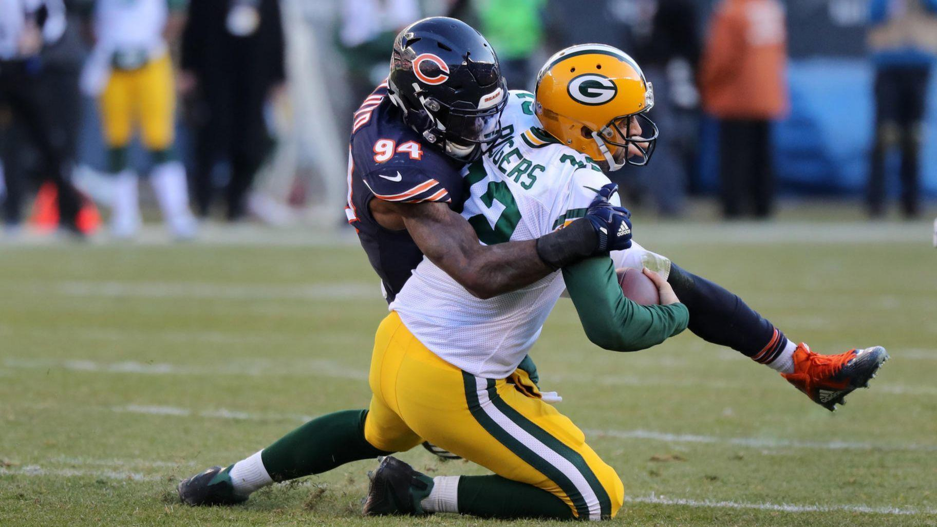 Bears sack Aaron Rodgers 5 times en route to division-clinching fe25a255b