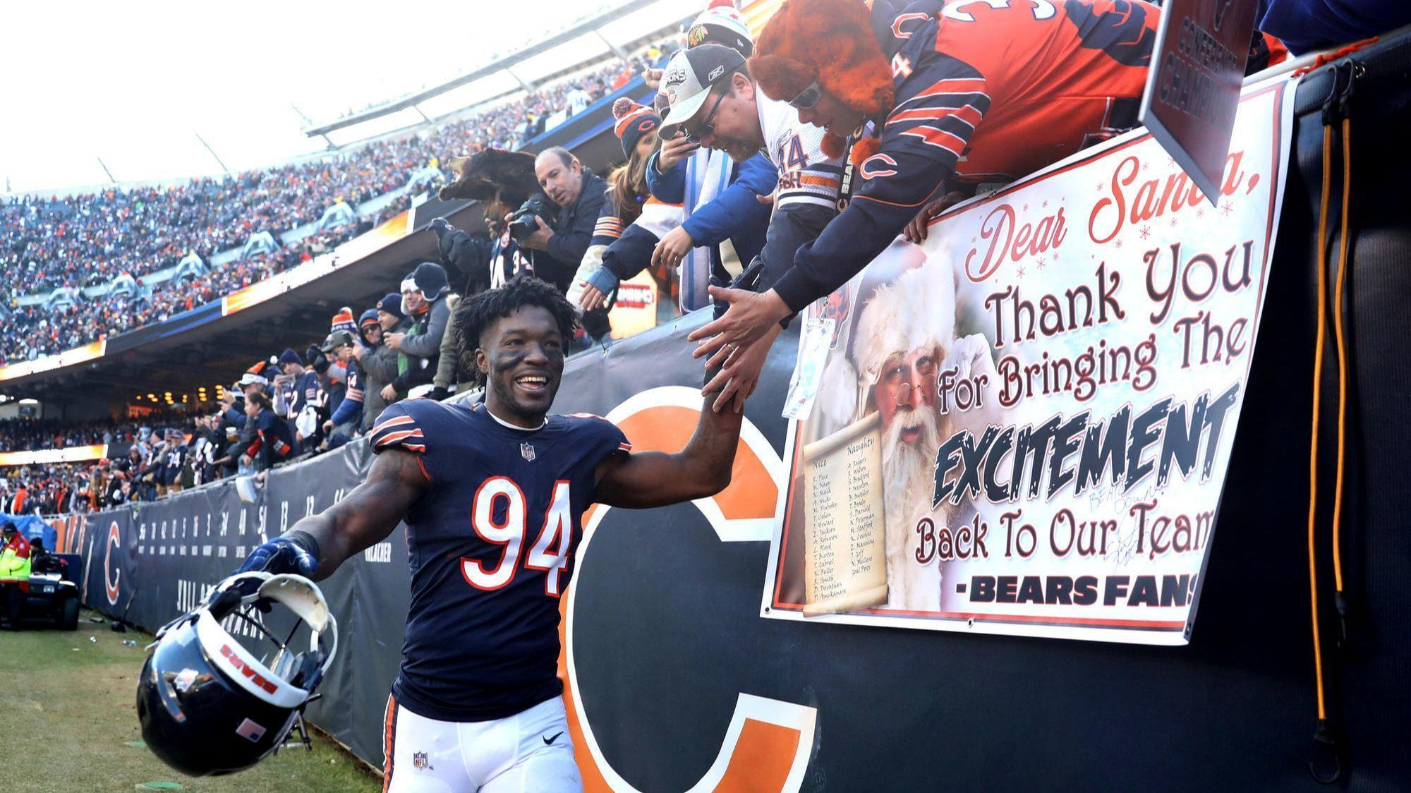 Brad Biggs  10 thoughts after the Bears clinched the NFC North with a win  over the Packers 29b3b47f4