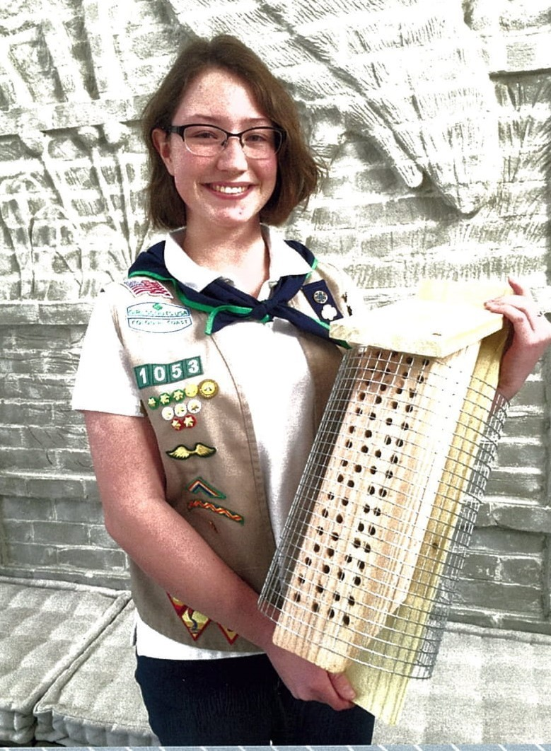f393ec6a5c97 Yorktown Girl Scout Earns Gold Award - Daily Press