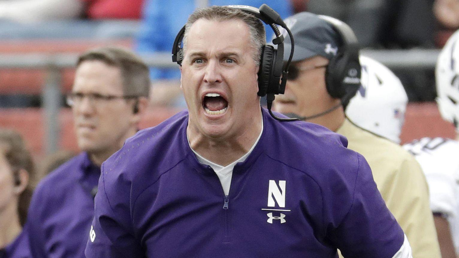 Pat Fitzgerald 'not happy' after Big Ten schedules Ohio ...