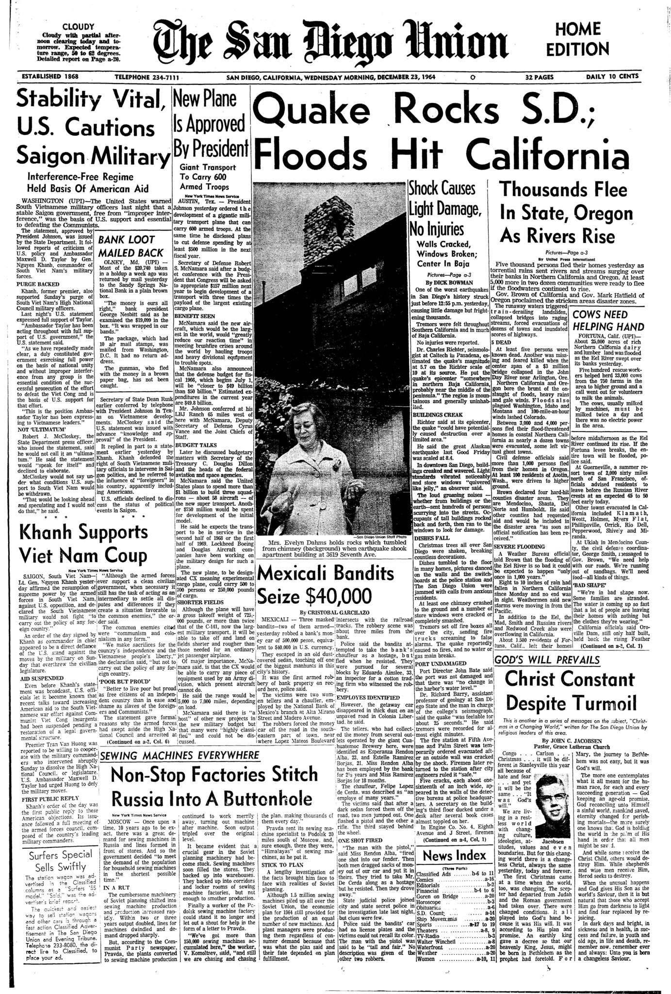 December 23, 1964