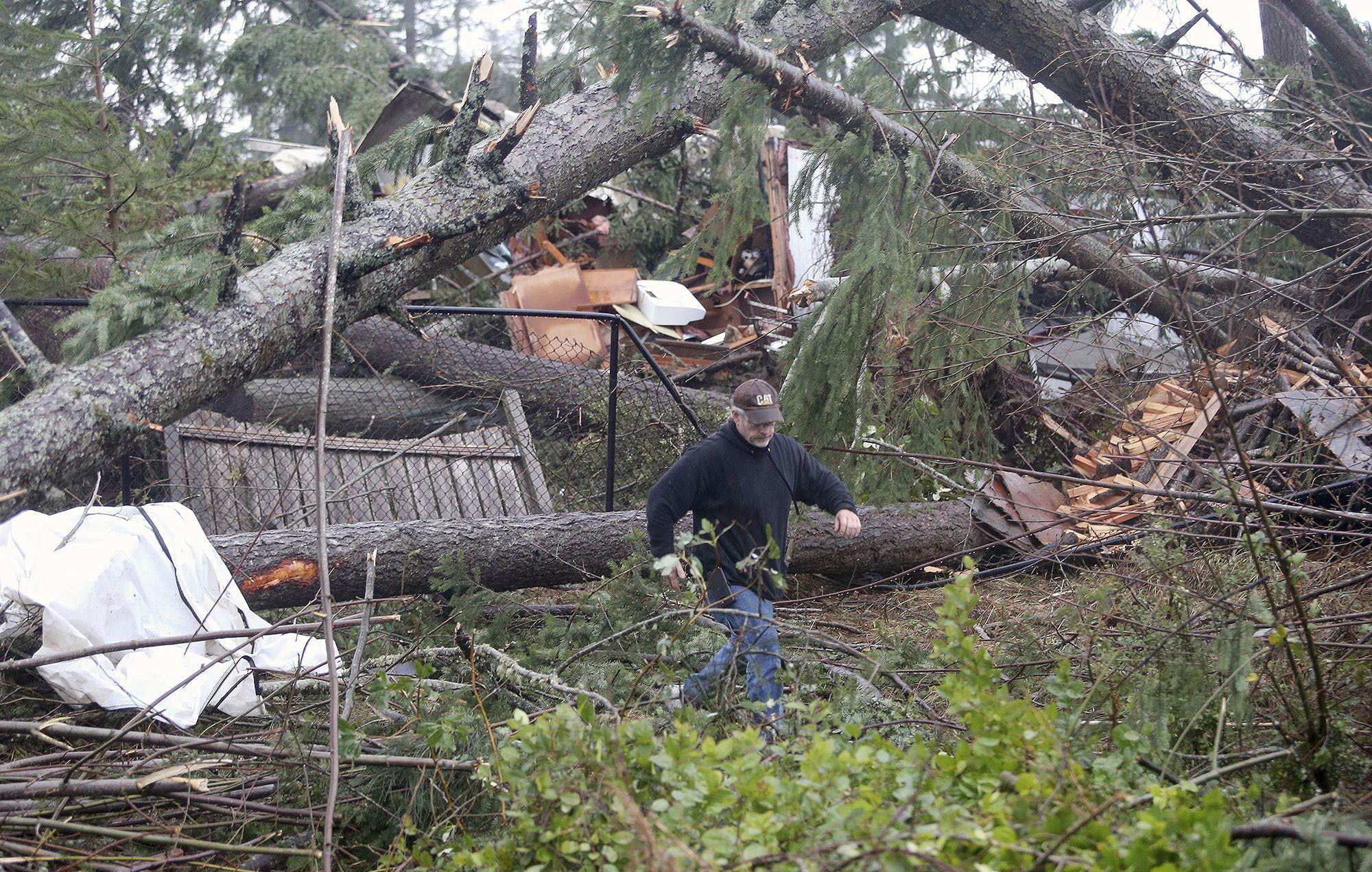 Rare December tornado touches down in suburban Seattle, causing 'catastrophic damage'