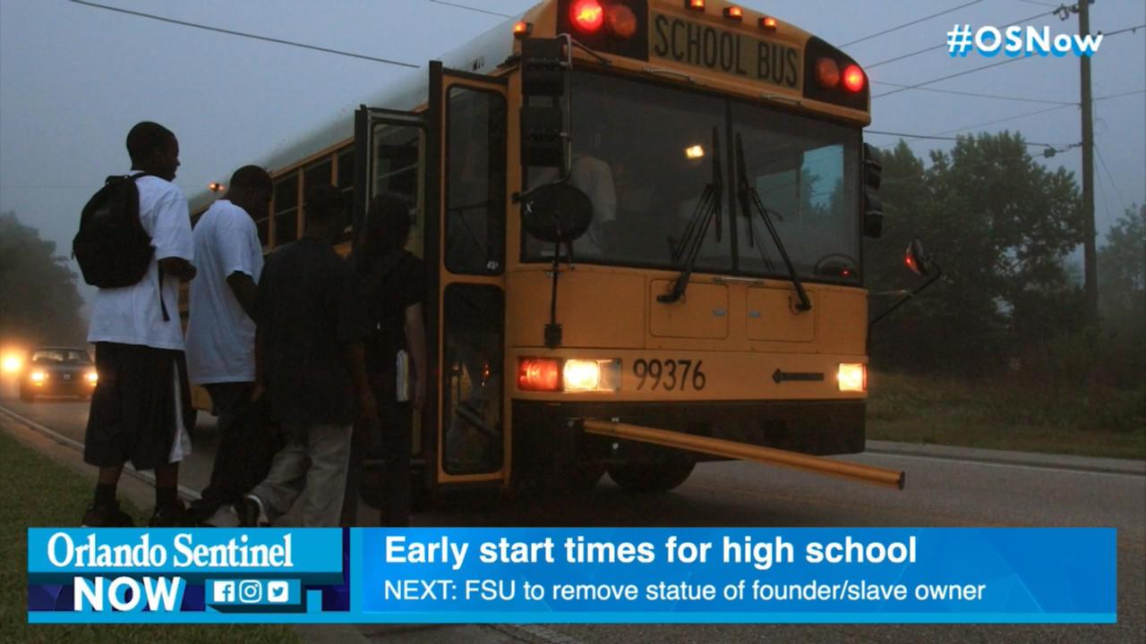 Later high school start times boost grades and attendance